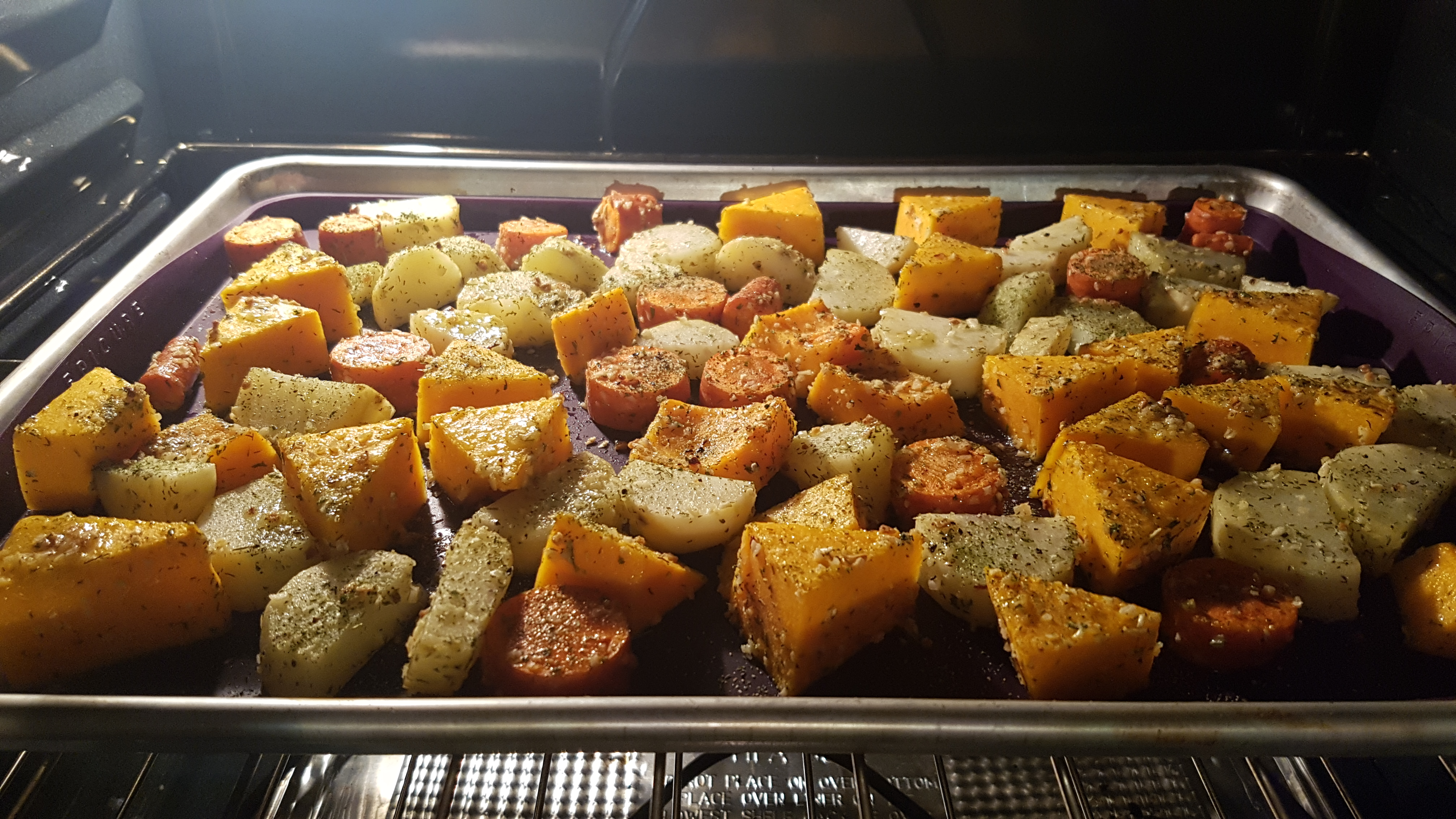 Simple Roasted Butternut Squash Julianna