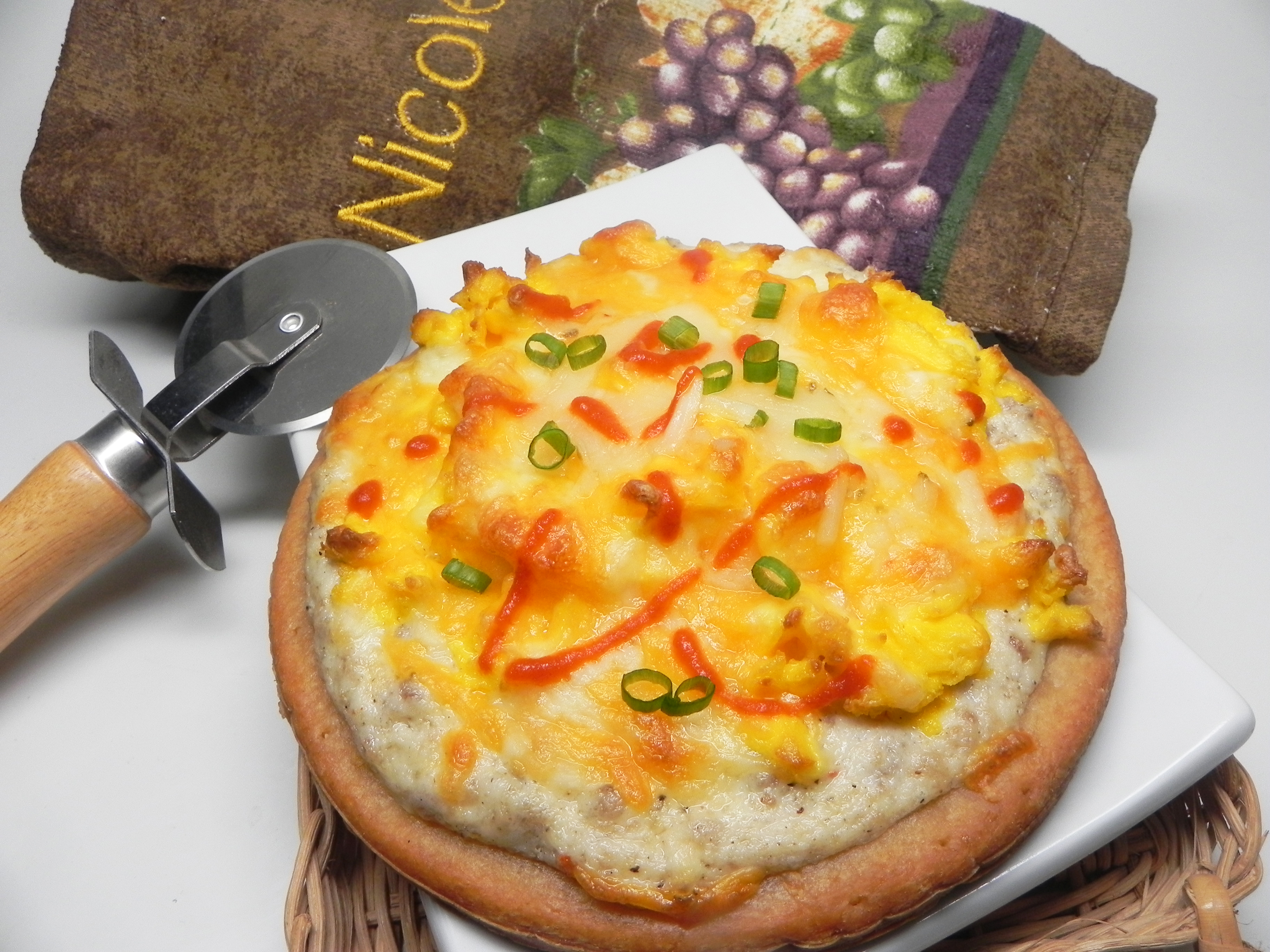 Country Sausage Breakfast Pizza