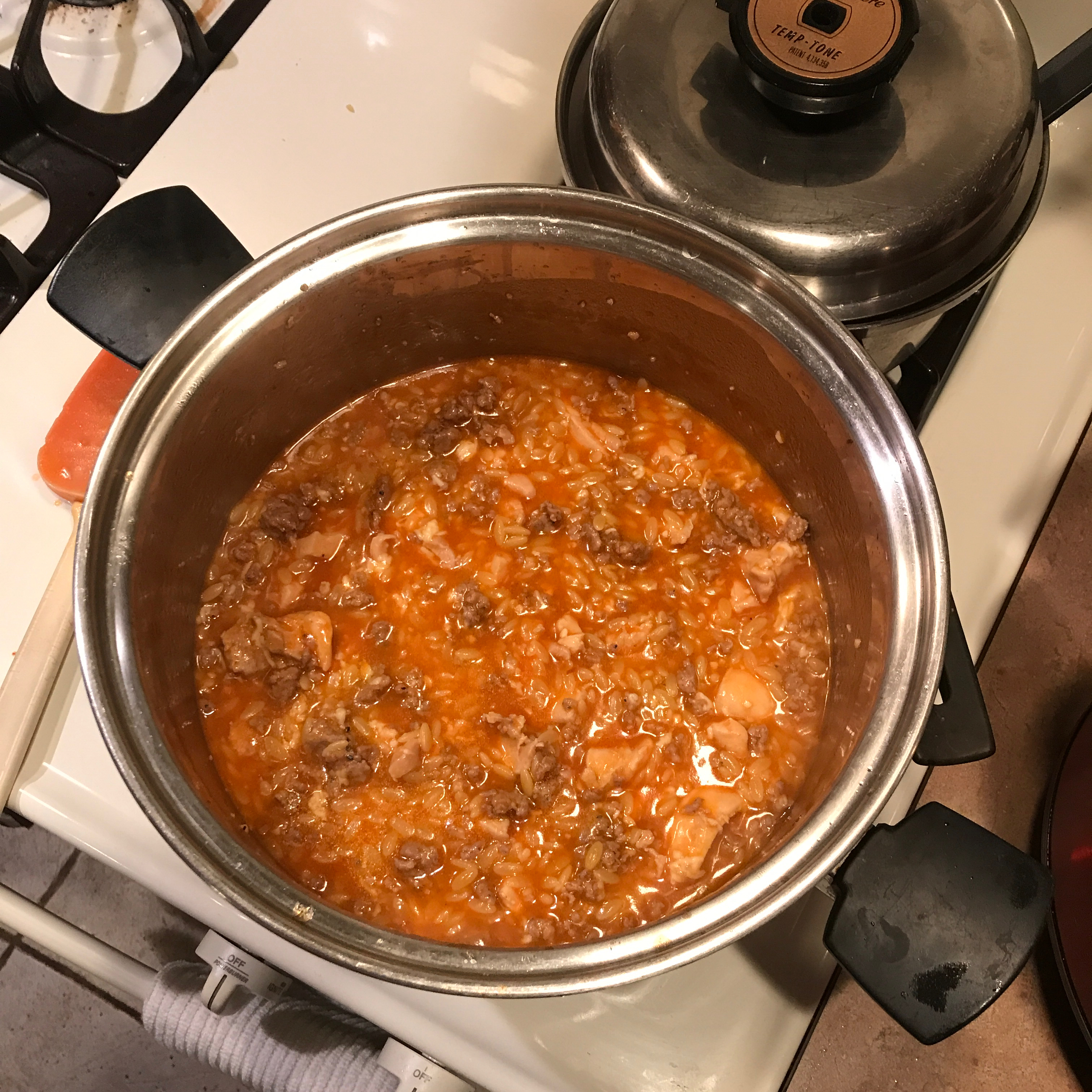 One-Pot Chicken and Sausage Orzo linkeats117