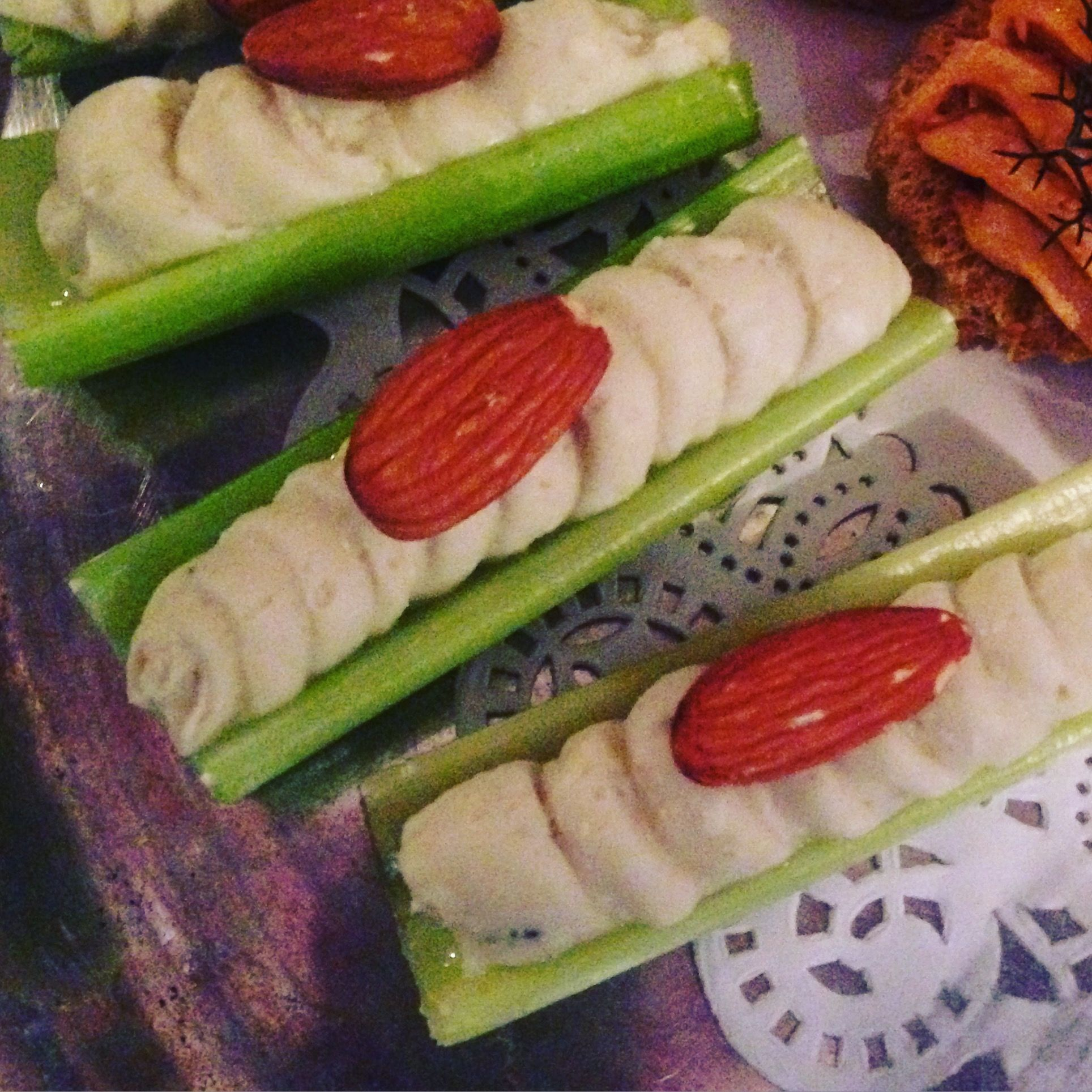 Blue Cheese-Celery Finger Food