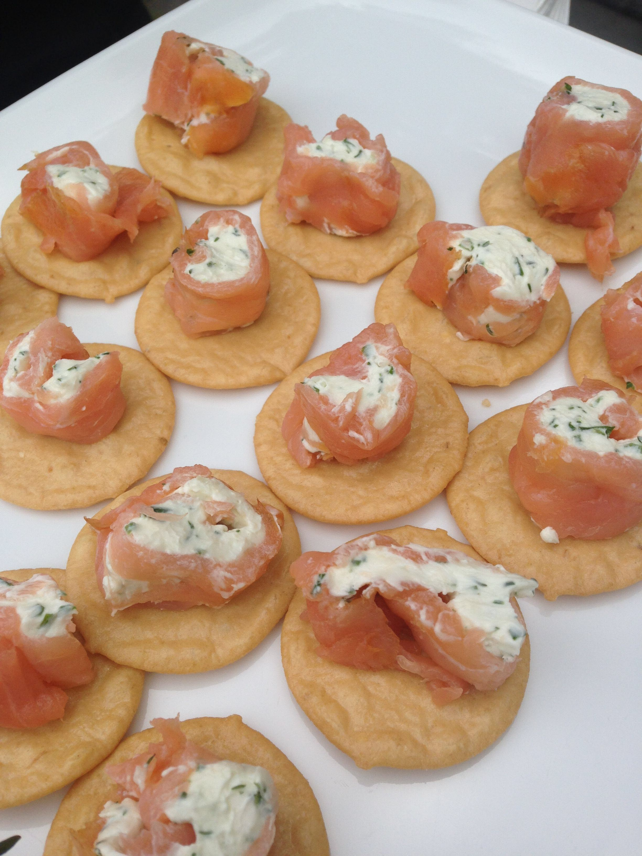 Quick and Easy Finger Food with Smoked Salmon