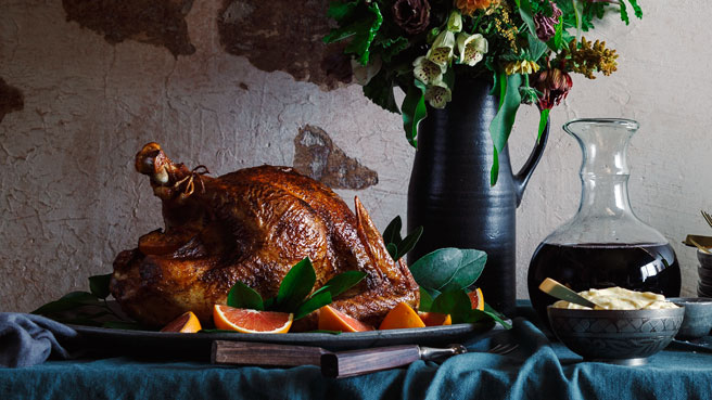 Berbere-Rubbed Roast Turkey with Orange Aioli Trusted Brands