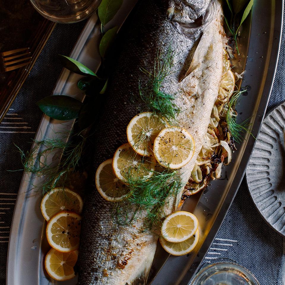 Fennel & Meyer Lemon-Stuffed Salmon Trusted Brands