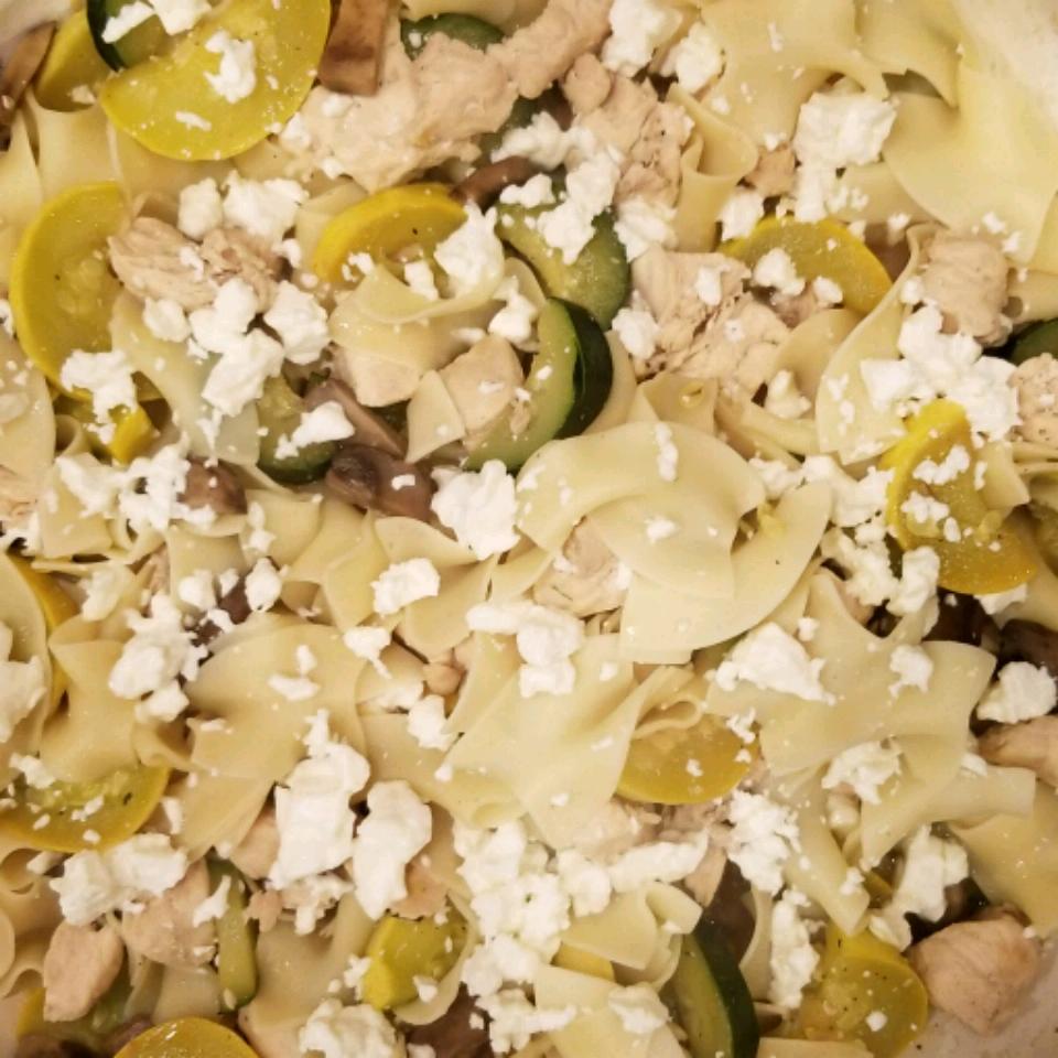 Veggie Chicken Pasta Marina Garcia