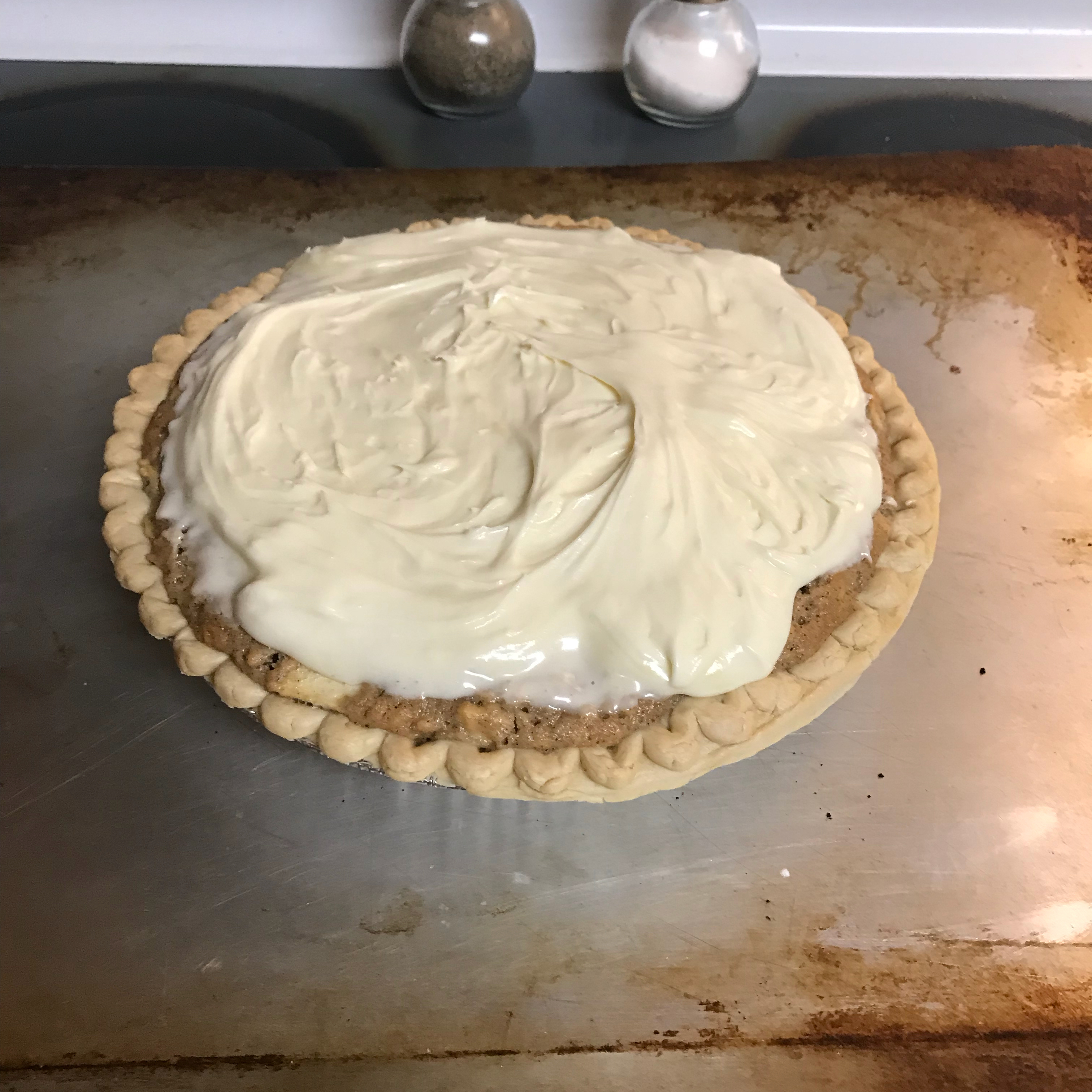 French Apple Pie with Cream Cheese Topping Bob McKeown