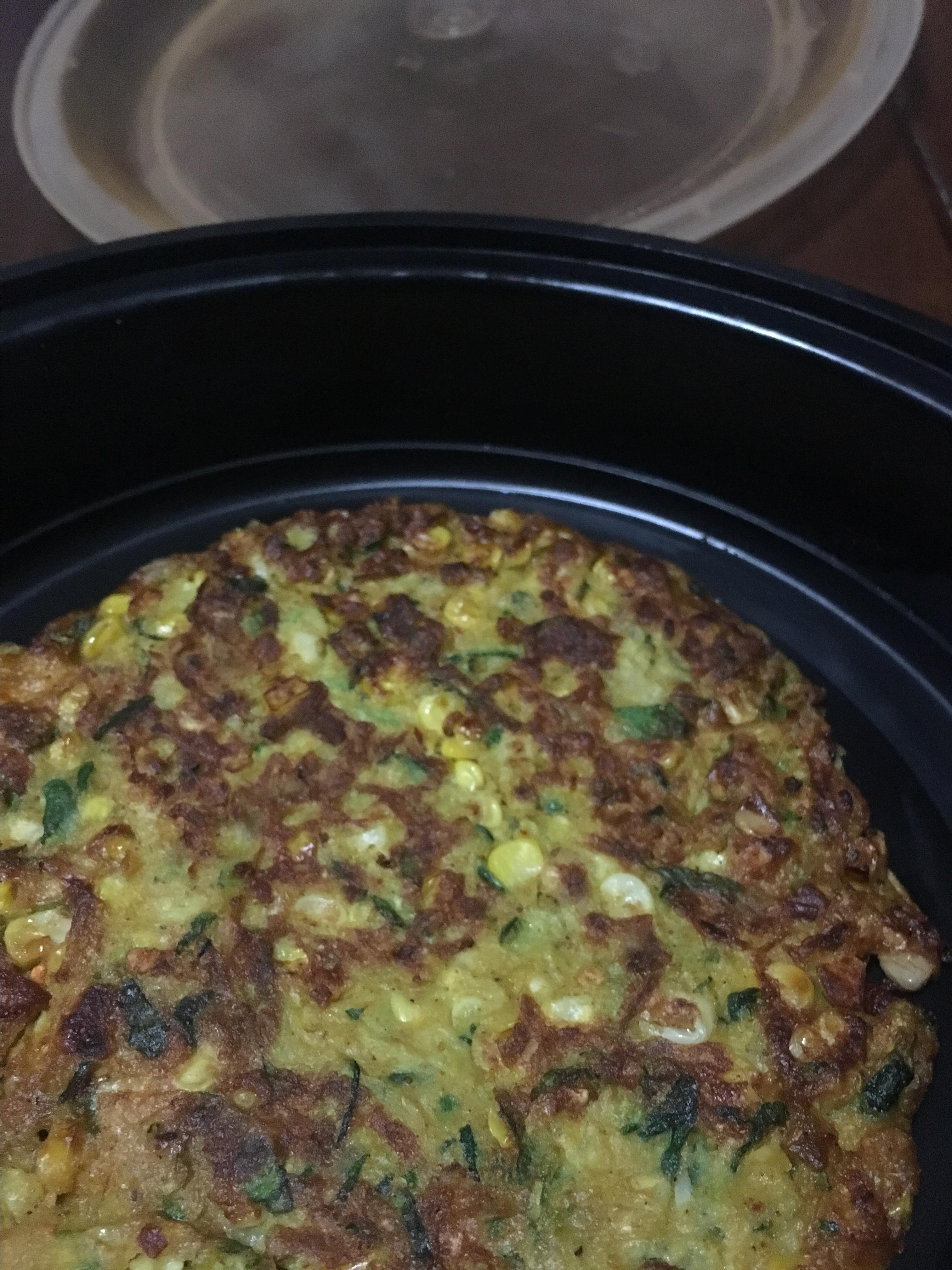 Curried Zucchini Corn Fritters xxxkneenuhxxx