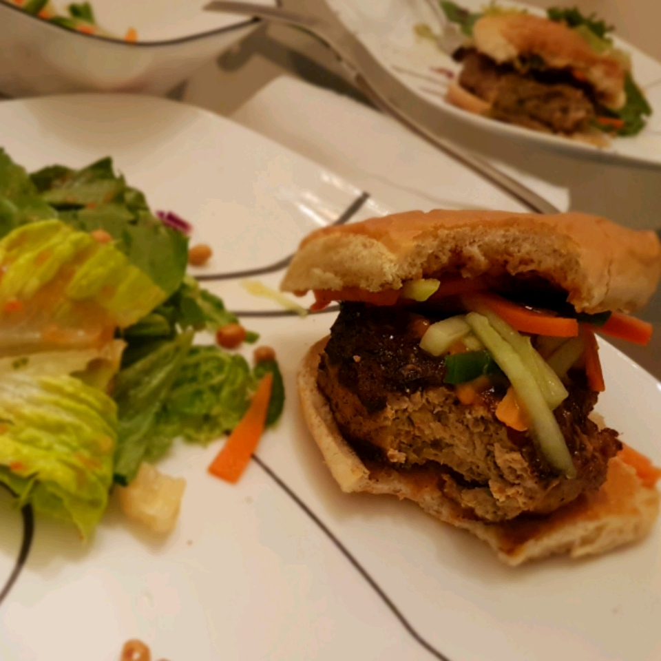 Chef John's Chicken Satay Burger Ian Saul