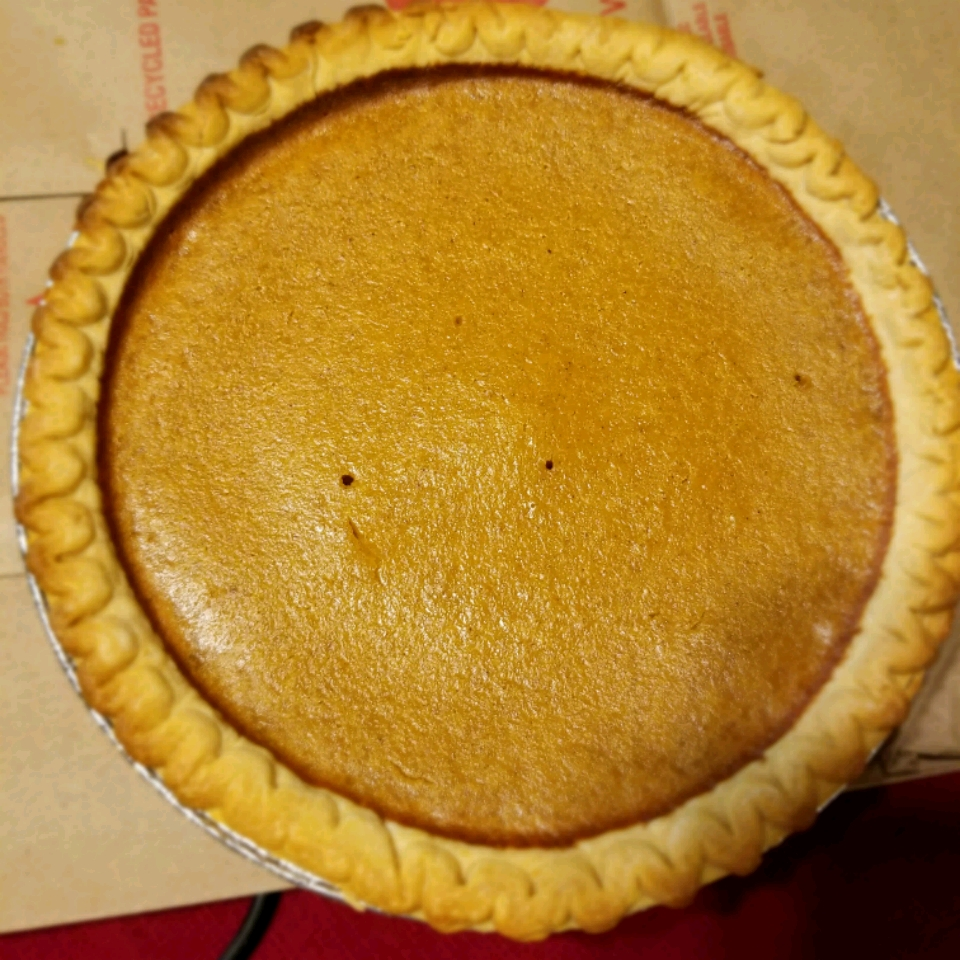 Mrs. Sigg's Fresh Pumpkin Pie Rebecca Crigger
