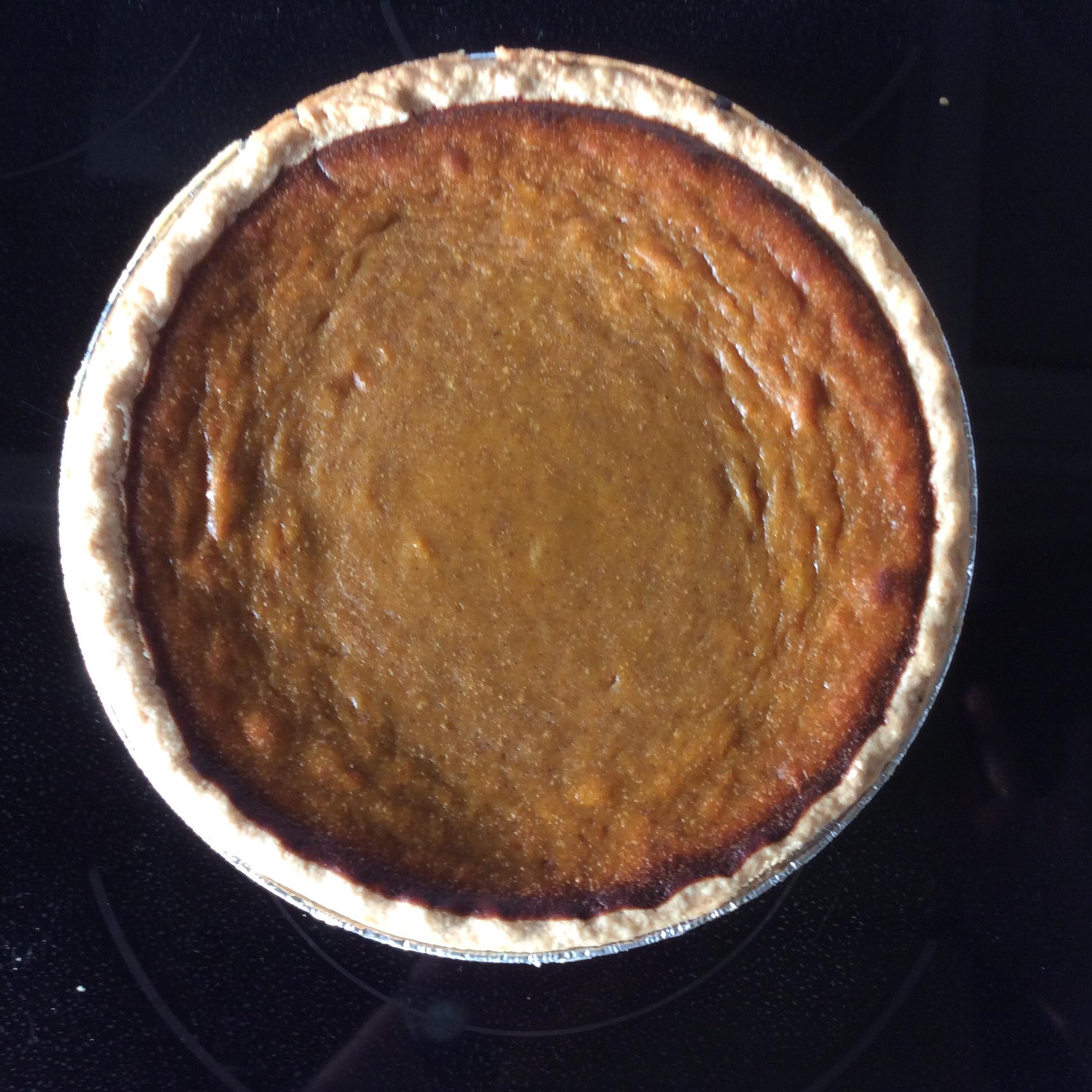 Hubbard Squash Pie