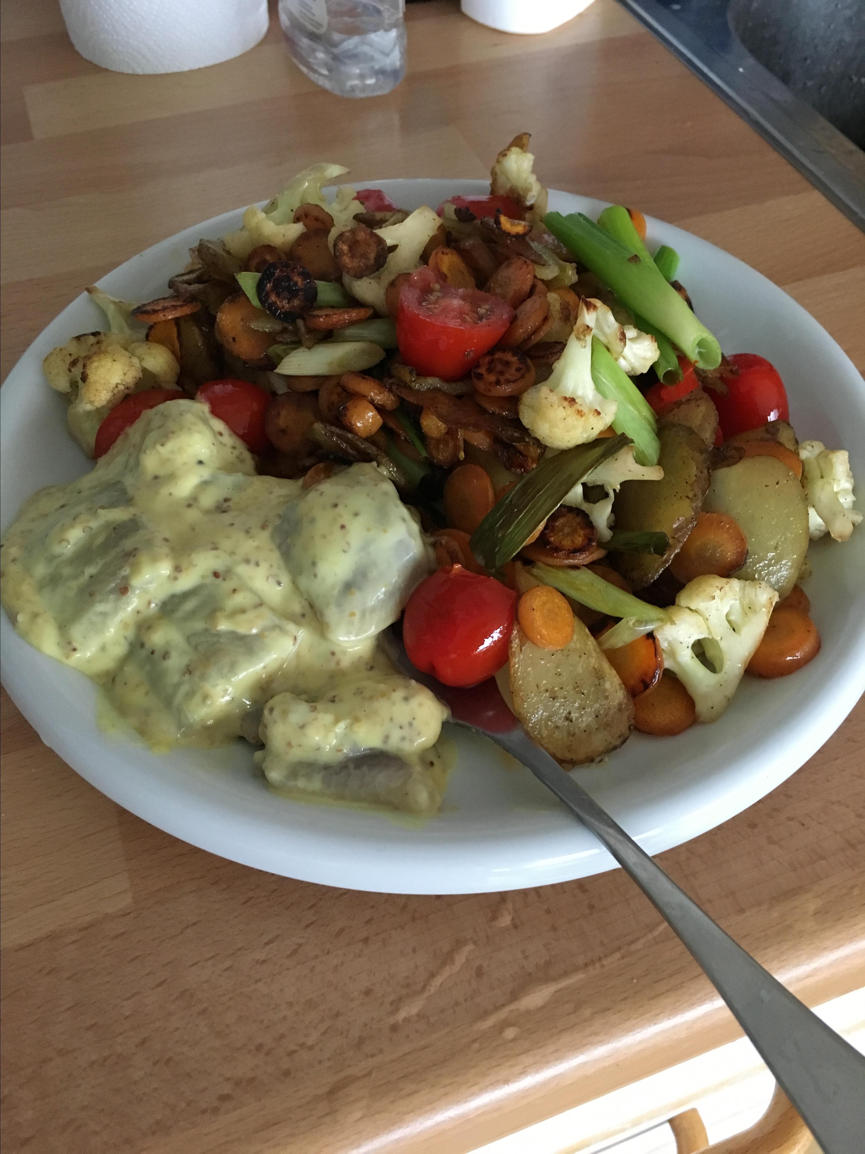 Hummus Noodle Salad tst