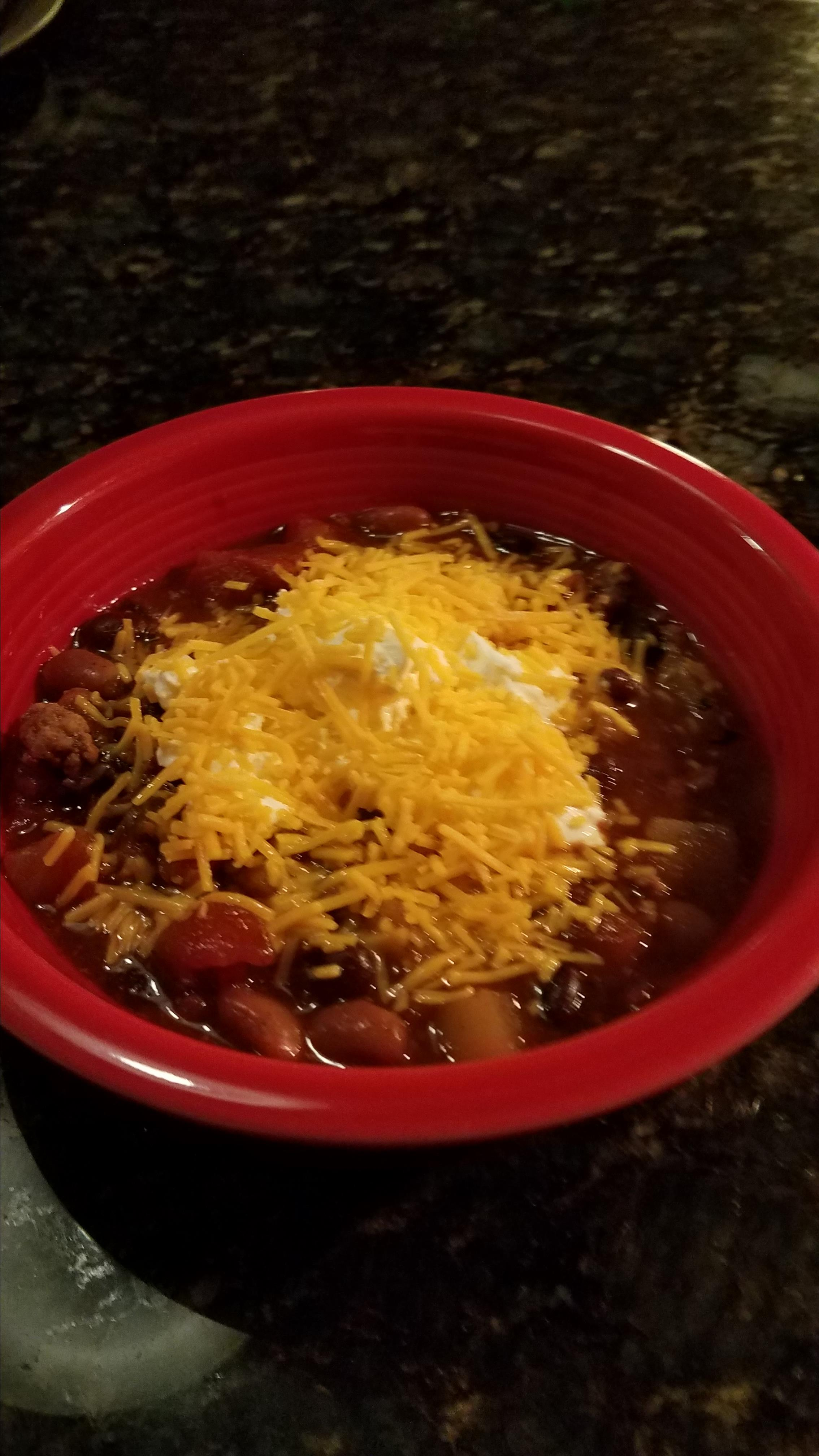 Slow Cooker Pumpkin Turkey Chili Carol Helsper