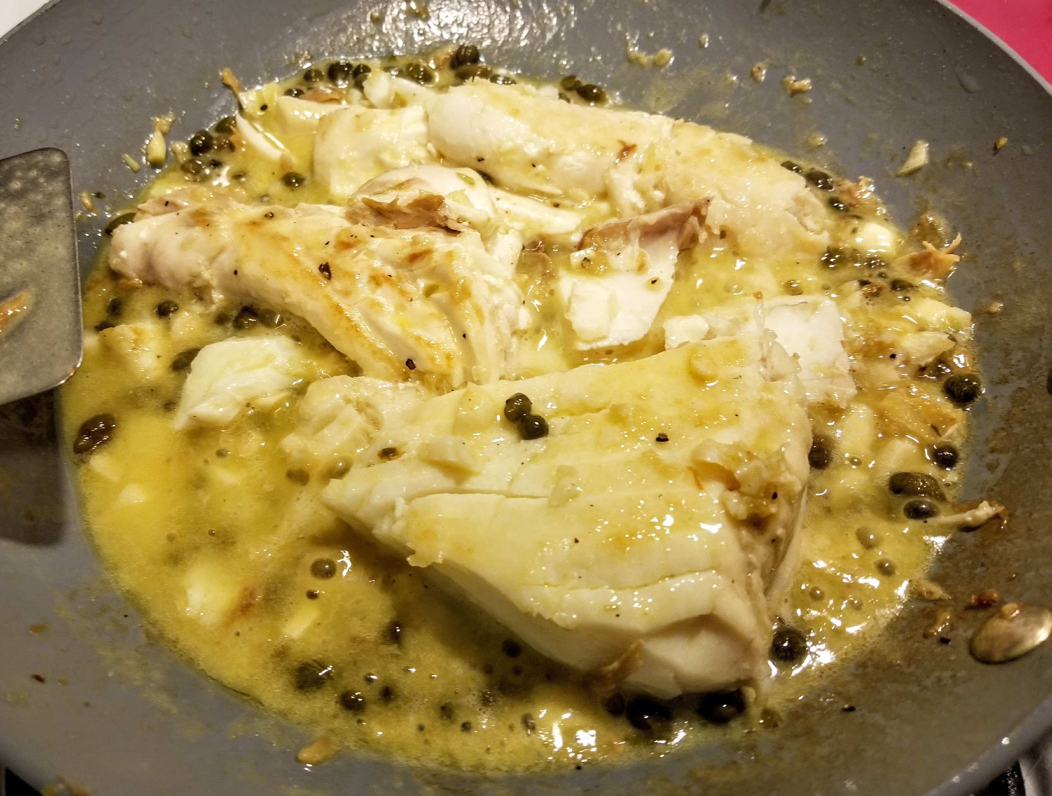 Capers and Halibut Jacquie Ochsner