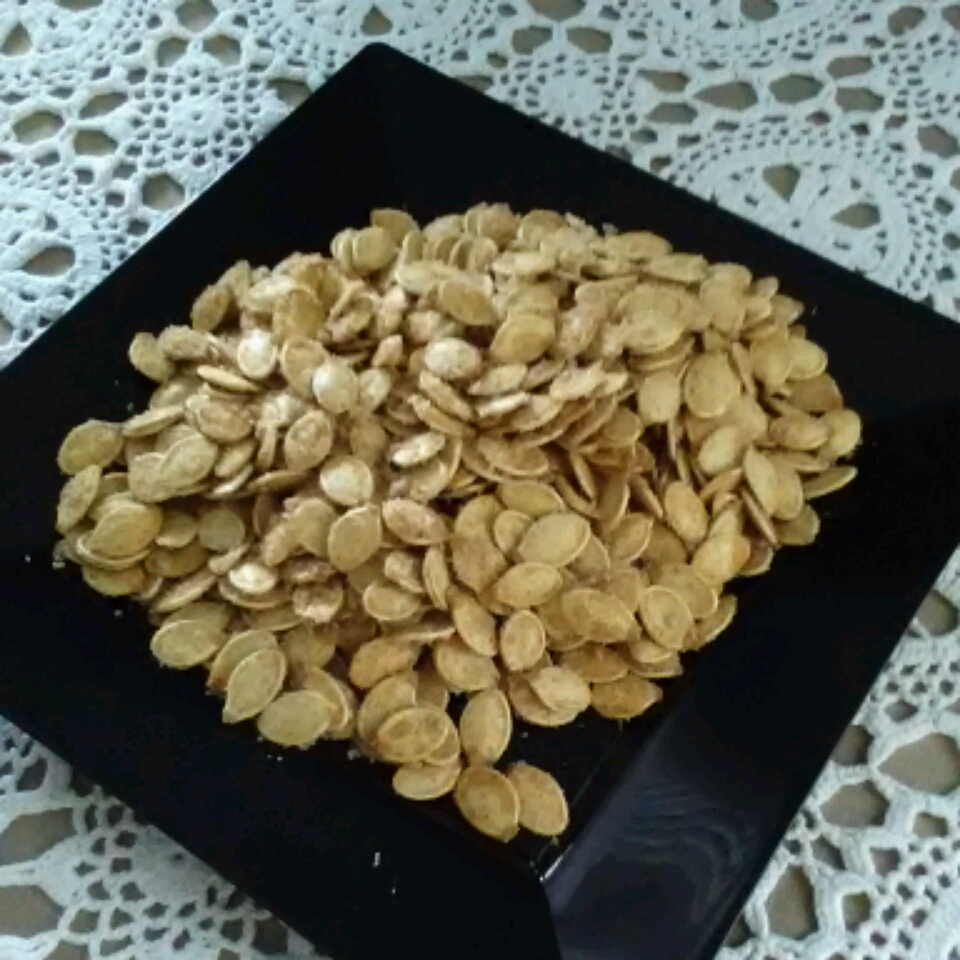 Caramelized Spicy Pumpkin Seeds T McPart