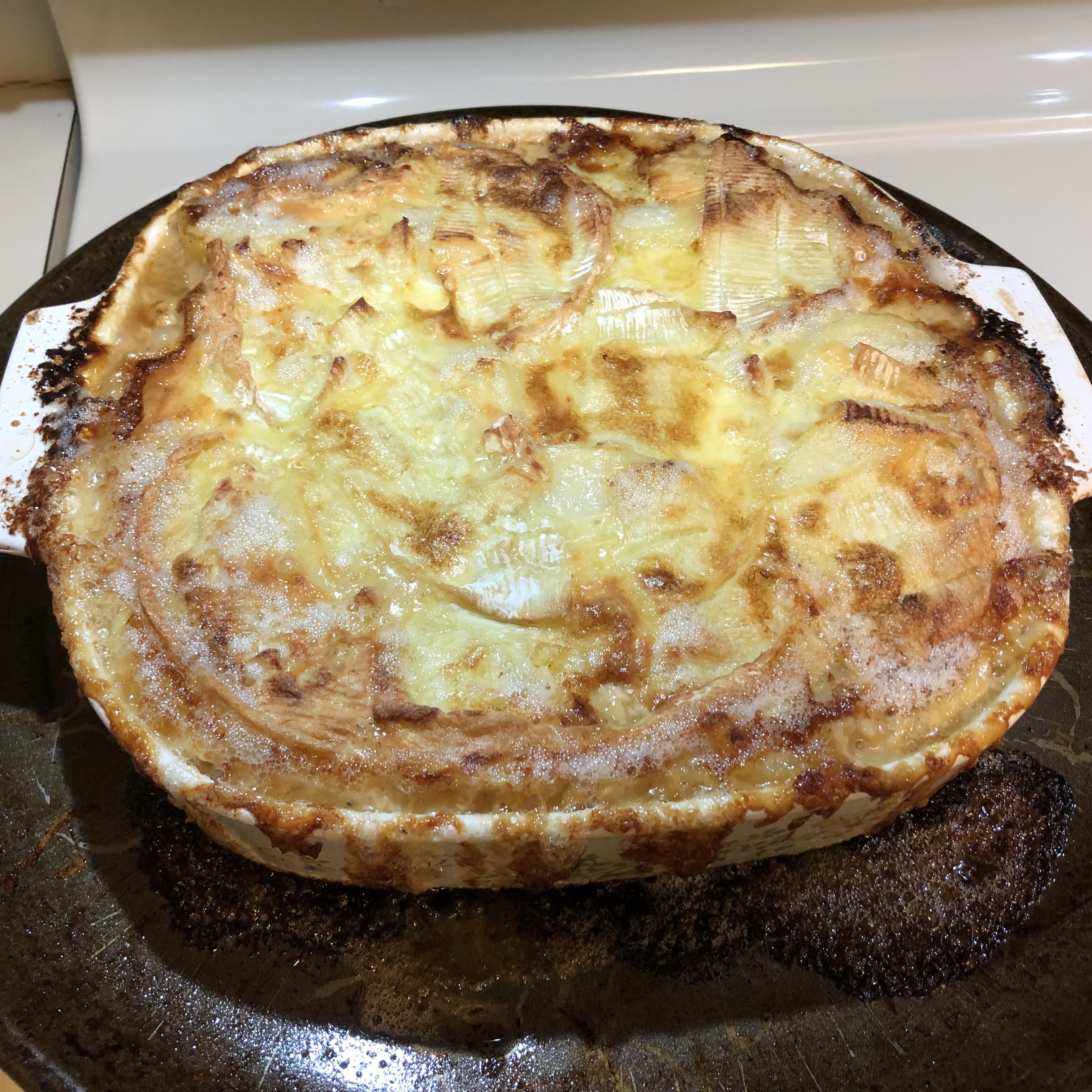 Tartiflette (French Potato, Bacon, and Cheese Casserole) J Huckaby