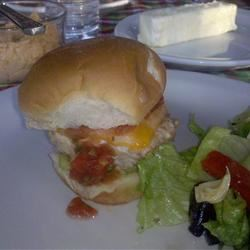 Green Chili Chicken Burgers Pattie Lindsley Nelson