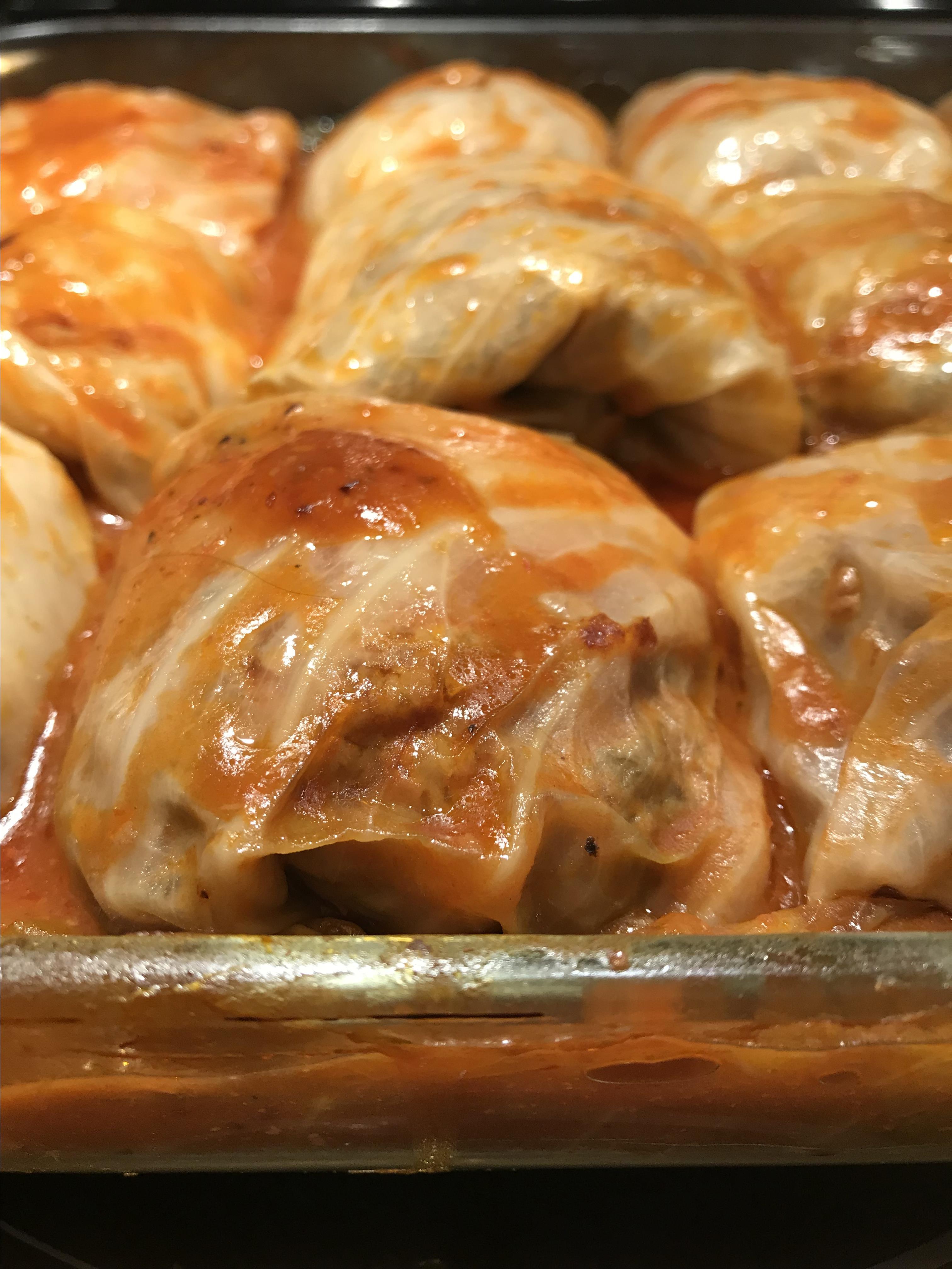 Halupki (Stuffed Cabbage) lovescotls