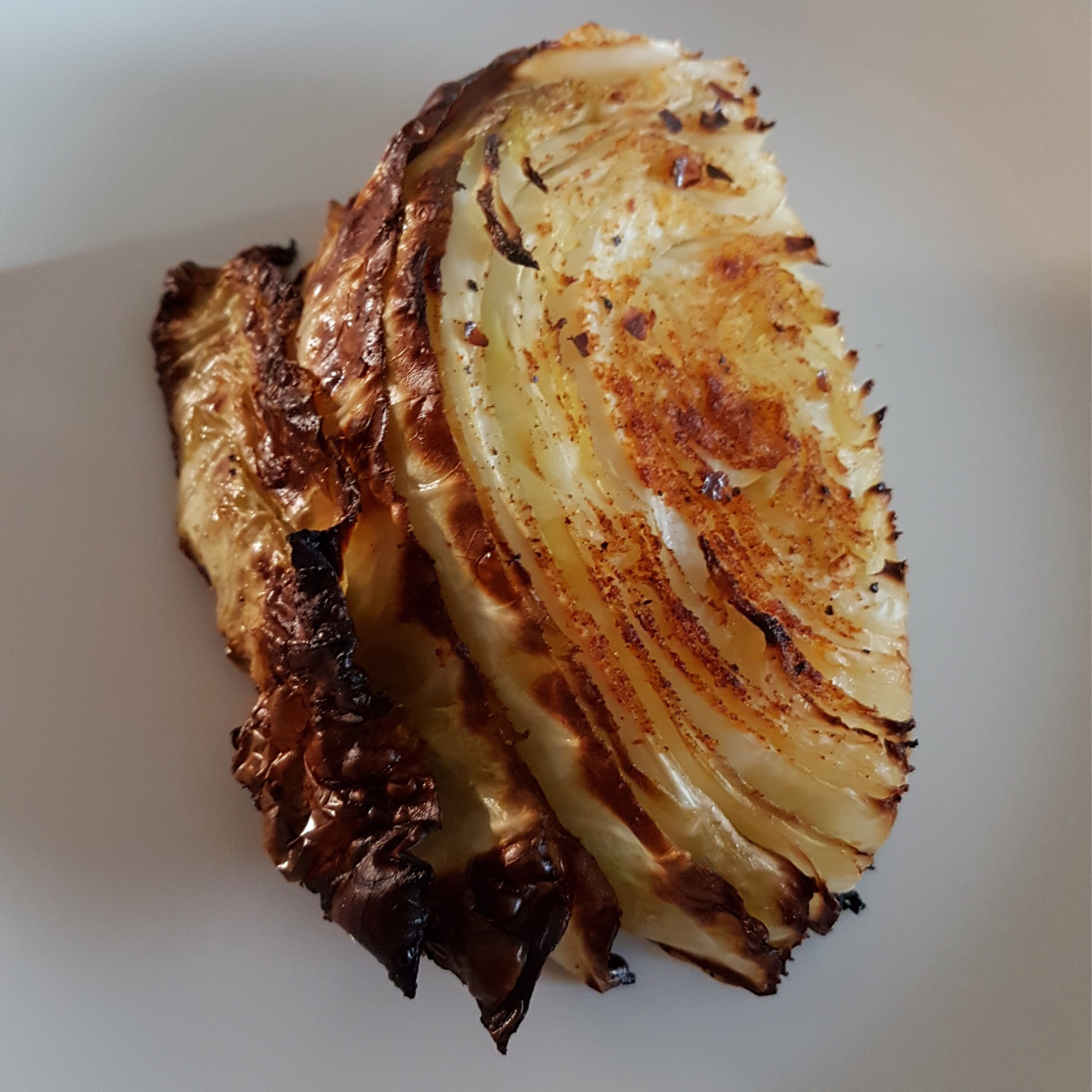 Roasted Cabbage Tom Baltes