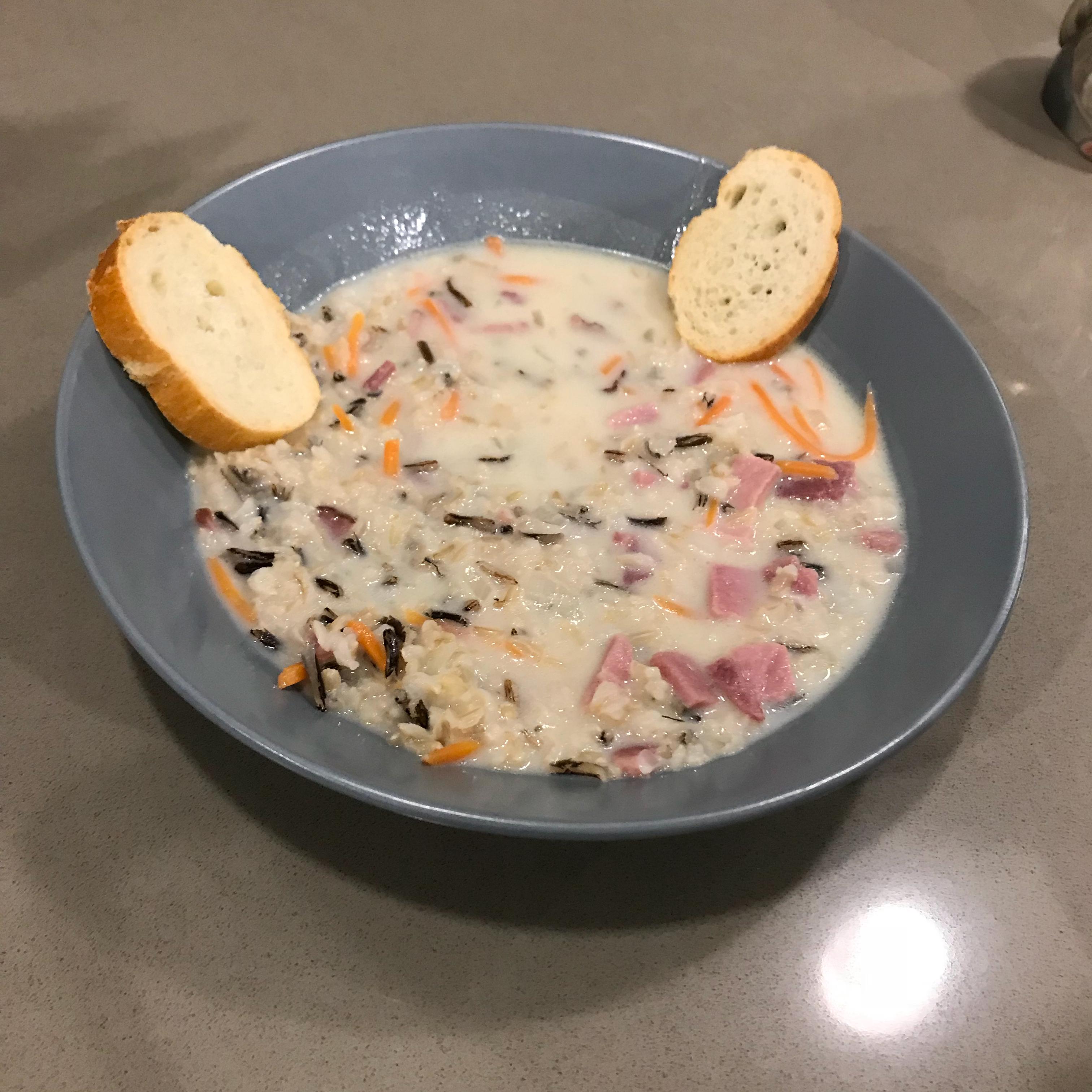 Elegant Wild Rice Soup
