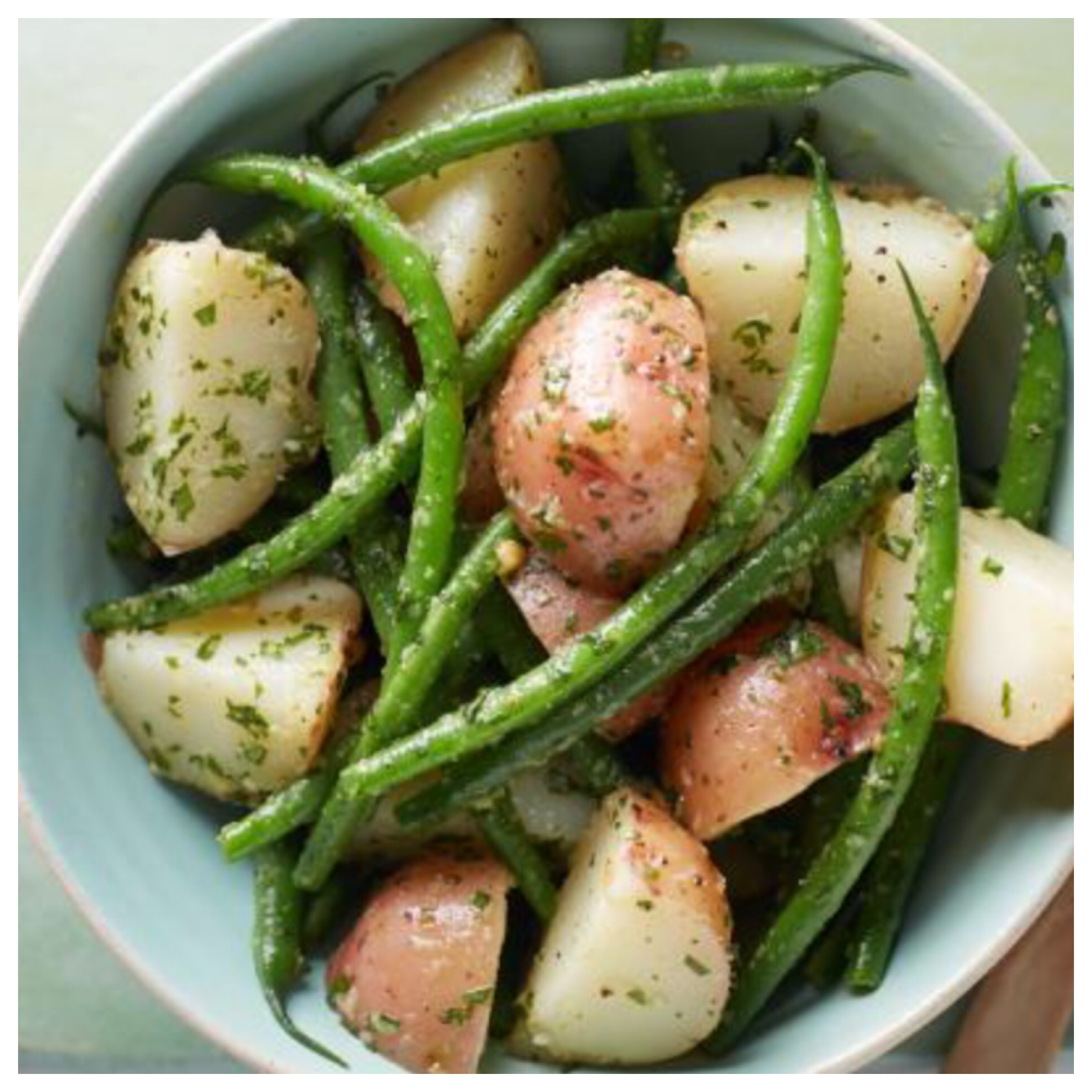 Roasted Green Beans and Baby Red Potatoes photog_grrl