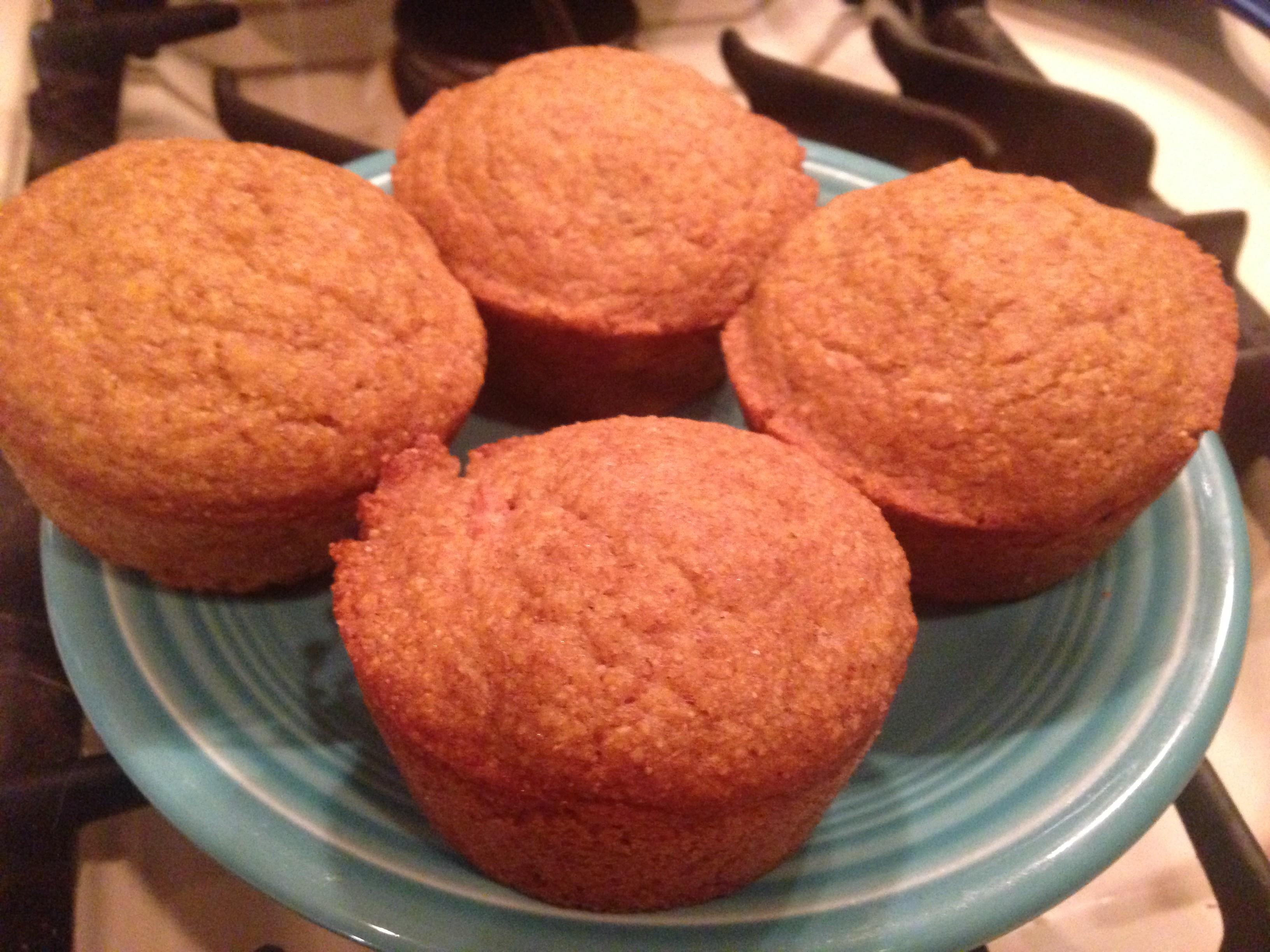 Vegan Agave Cornbread Muffins Jax