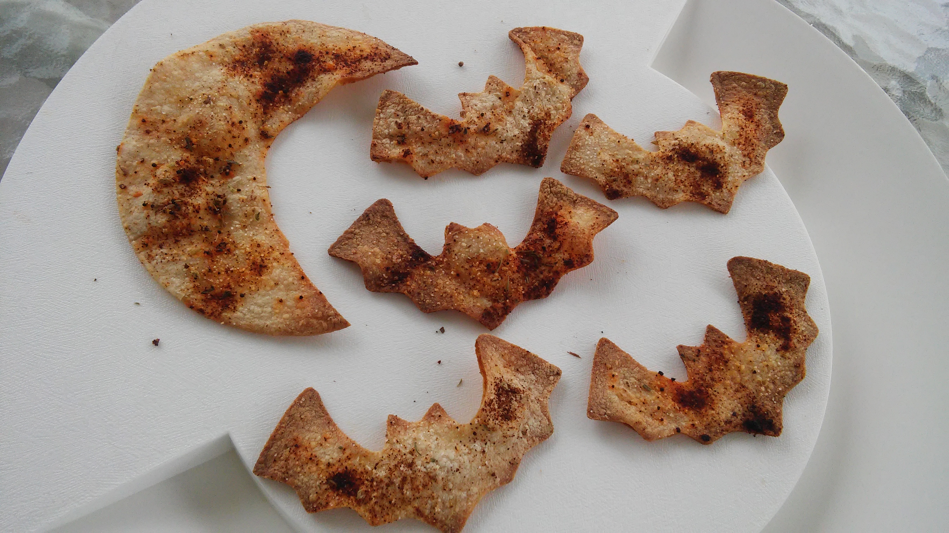 Delicious Baked Corn Chips Tammy Lynn
