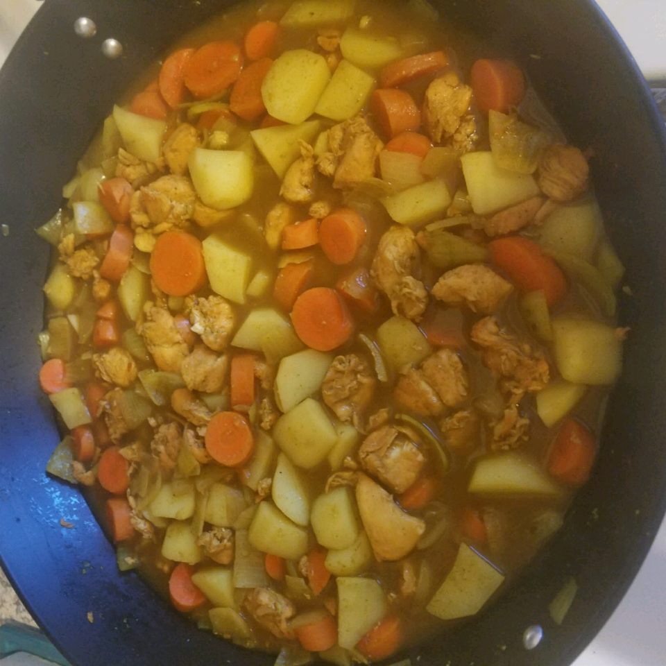 Chicken Curry and Potatoes