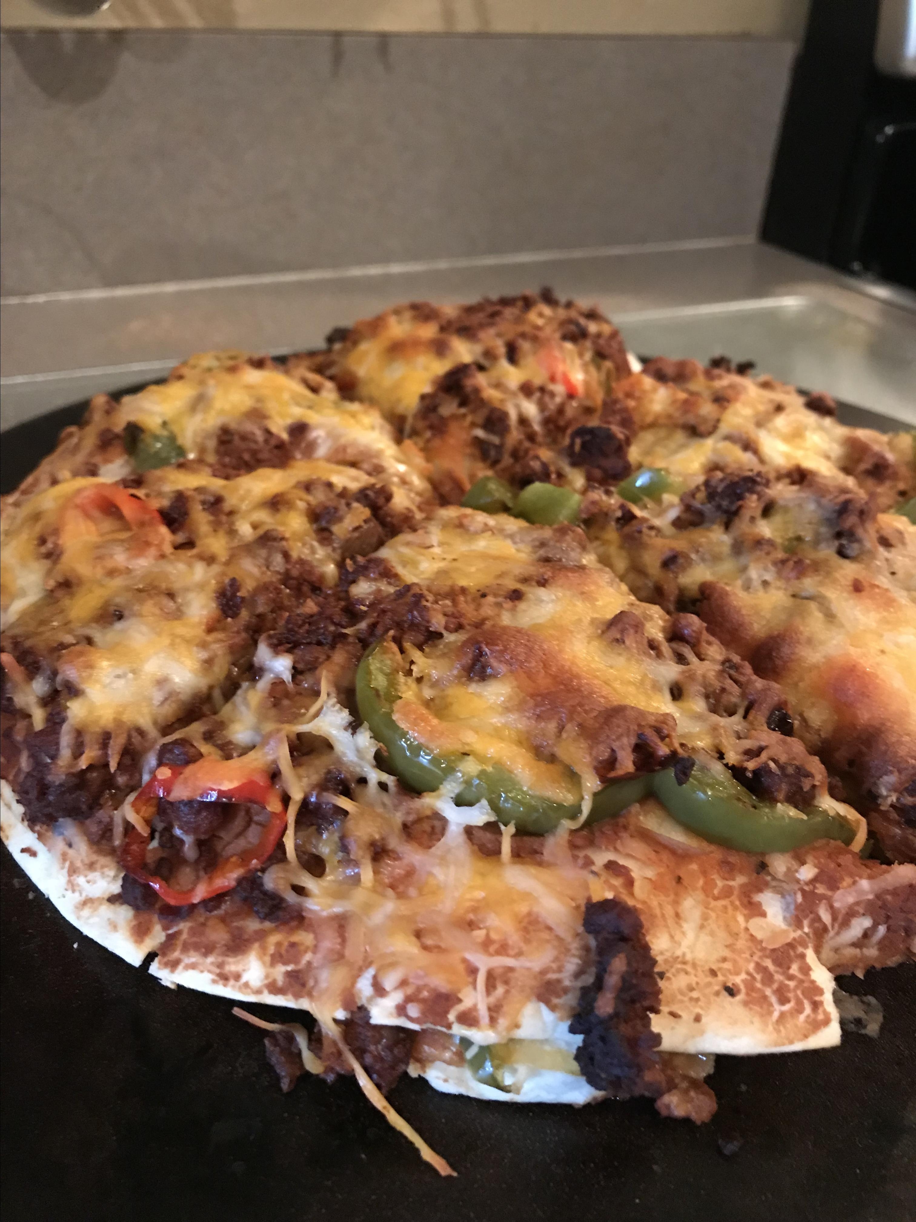 Mexican Deep-Dish Pizza Jackdup