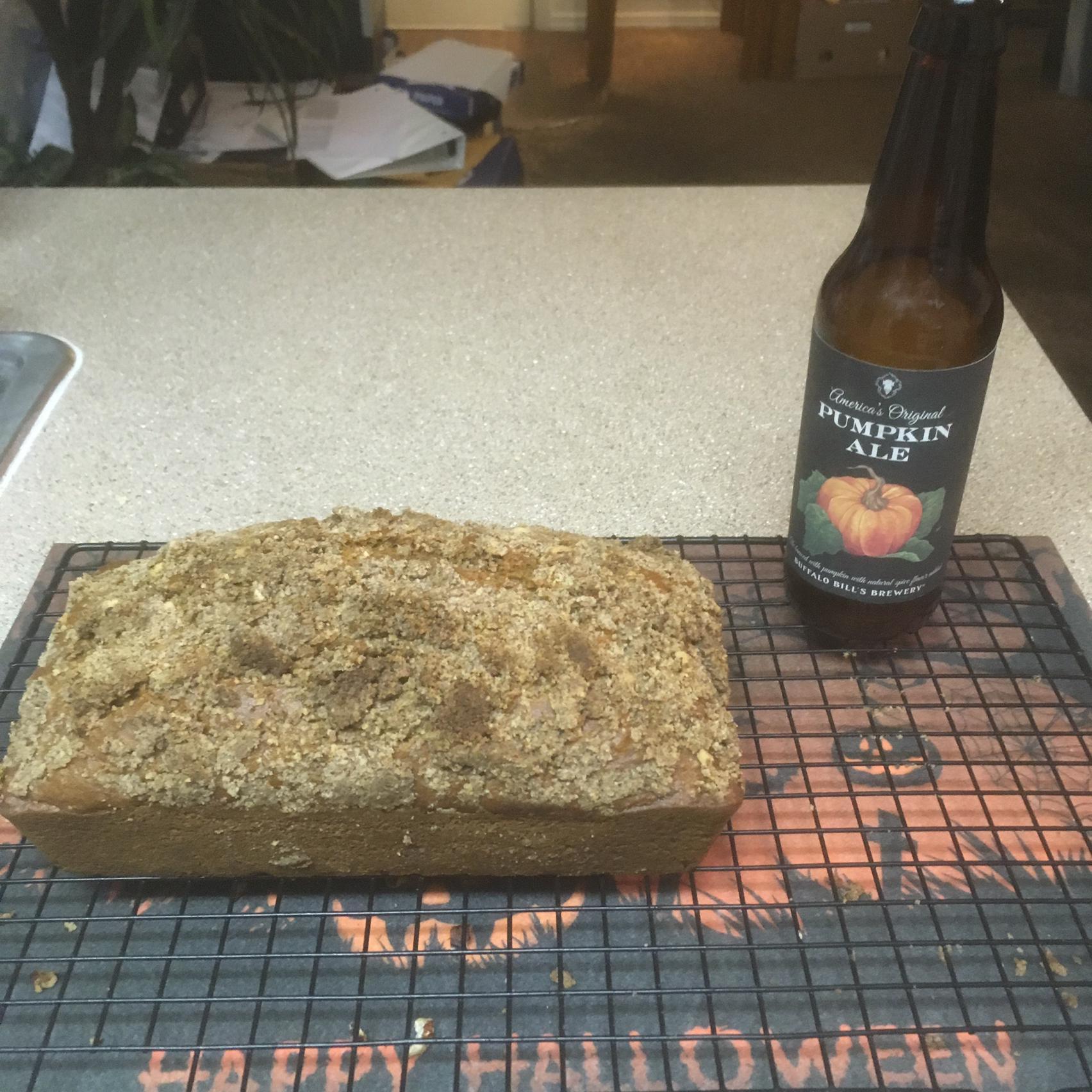 Double Pumpkin-Beer Bread Mrjffwilhelm