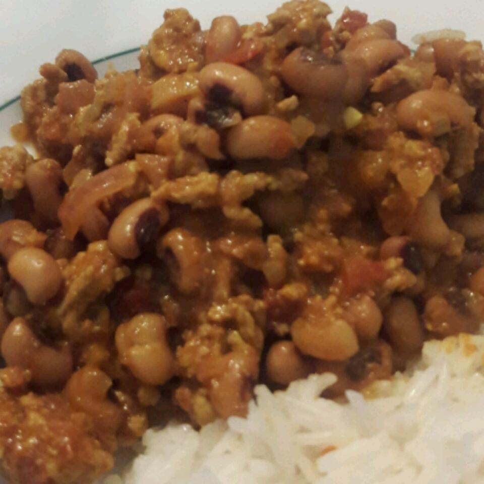 Minced Beef with Black-Eyed Beans Carla Sepúlveda