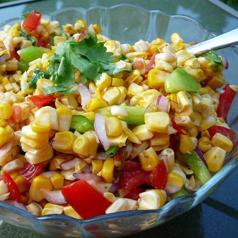Fresh Corn and Zucchini Saute