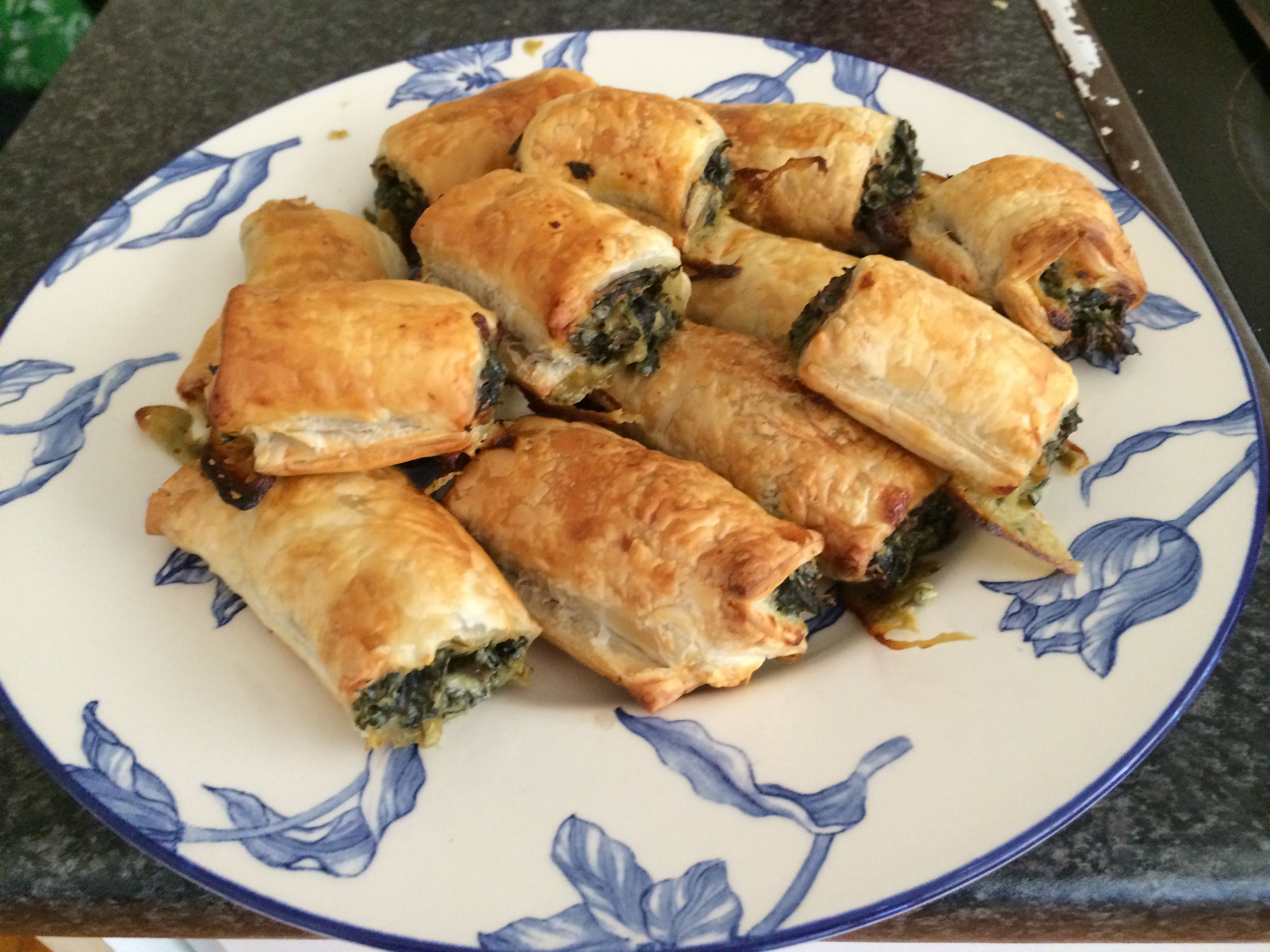 Spinach Rolls with Puff Pastry AllrecipesPhoto