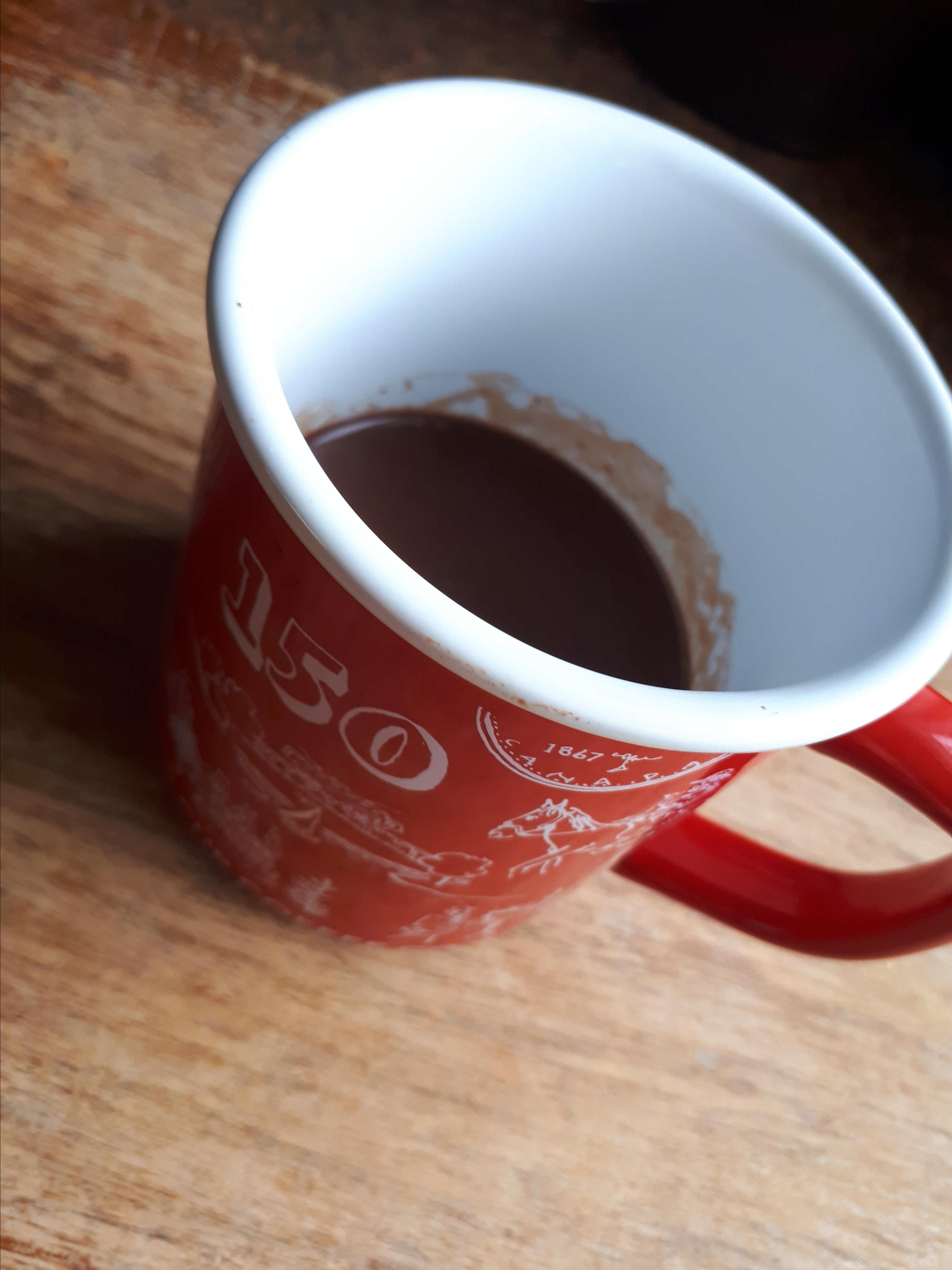 Maple Syrup Hot Chocolate