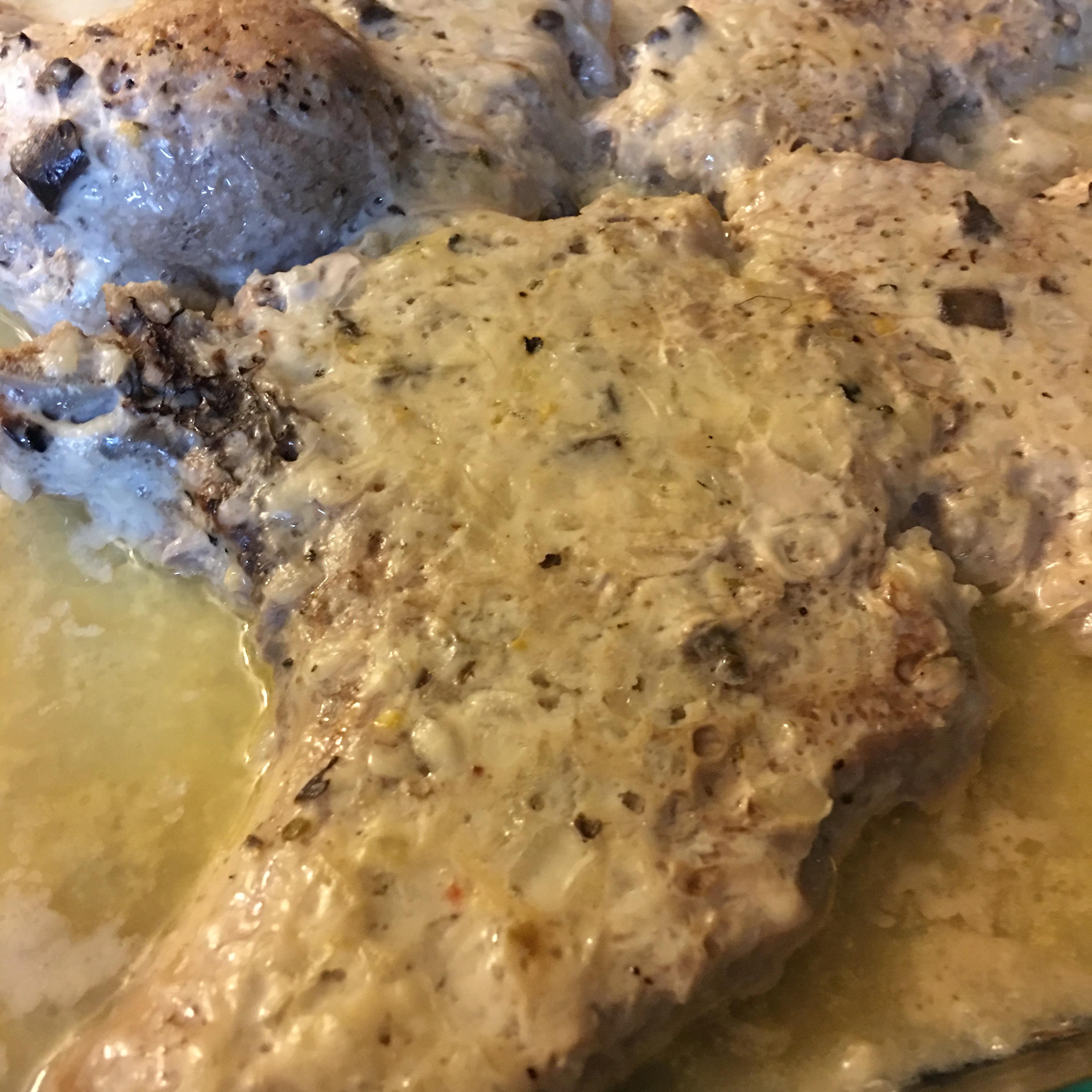 Golden Pork Chops