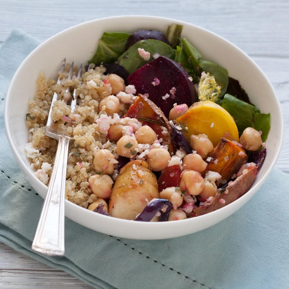 Chickpea & Veggie Grain Bowl Trusted Brands