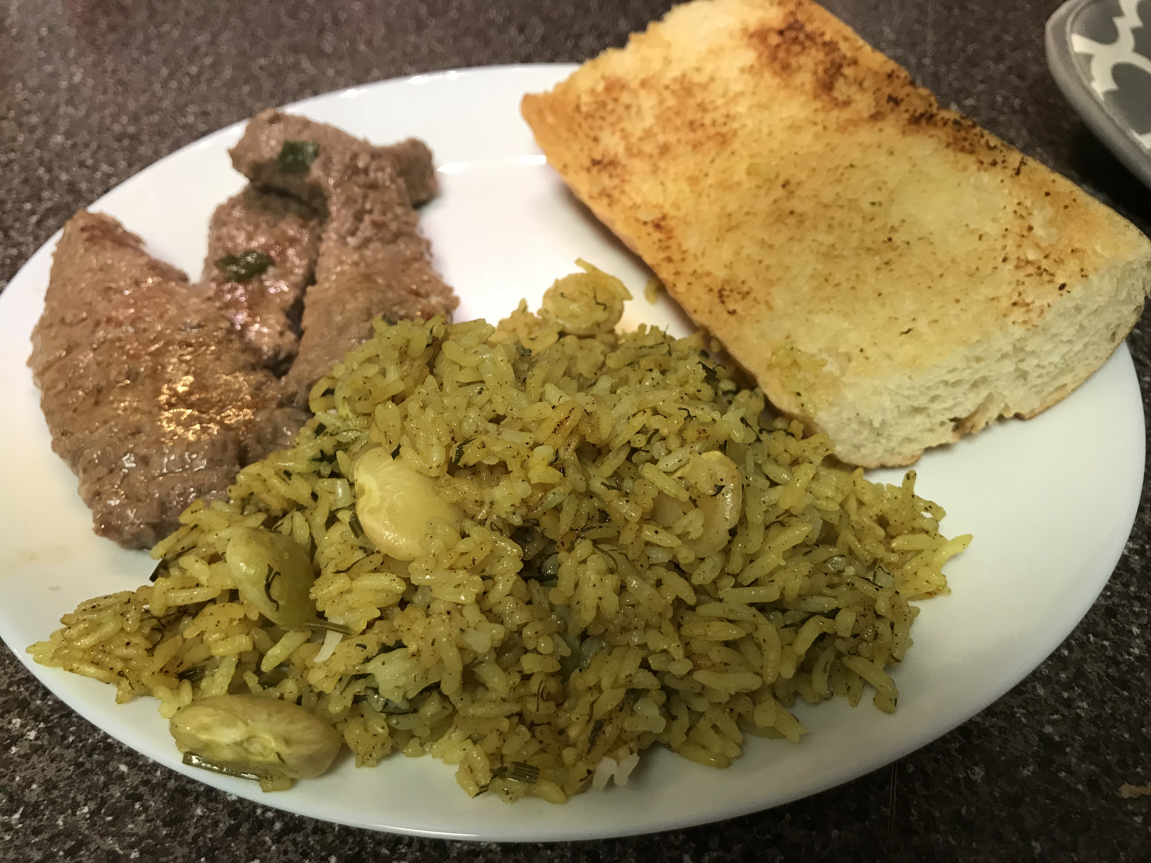 Persian Sabzi Polo (Herb Rice with Fava Beans) A Girl U Should Know
