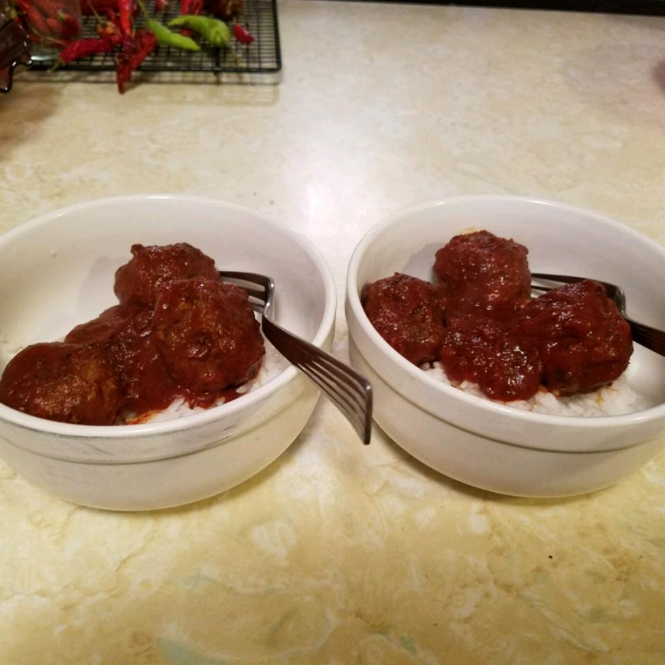Middle Eastern Cumin Meatballs Alex LaMarche
