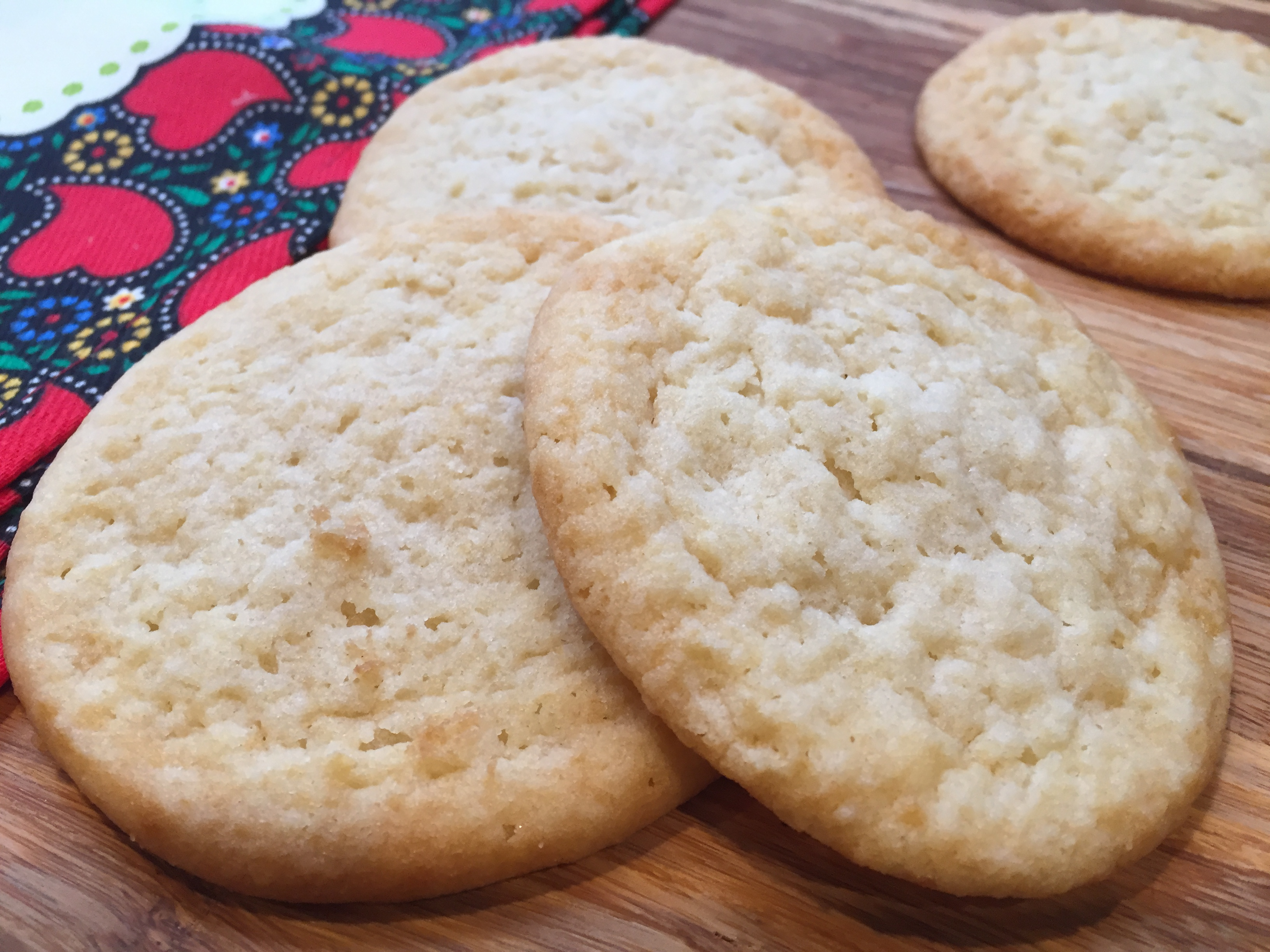 Low-Carb Almond Cinnamon Butter Cookies Fioa