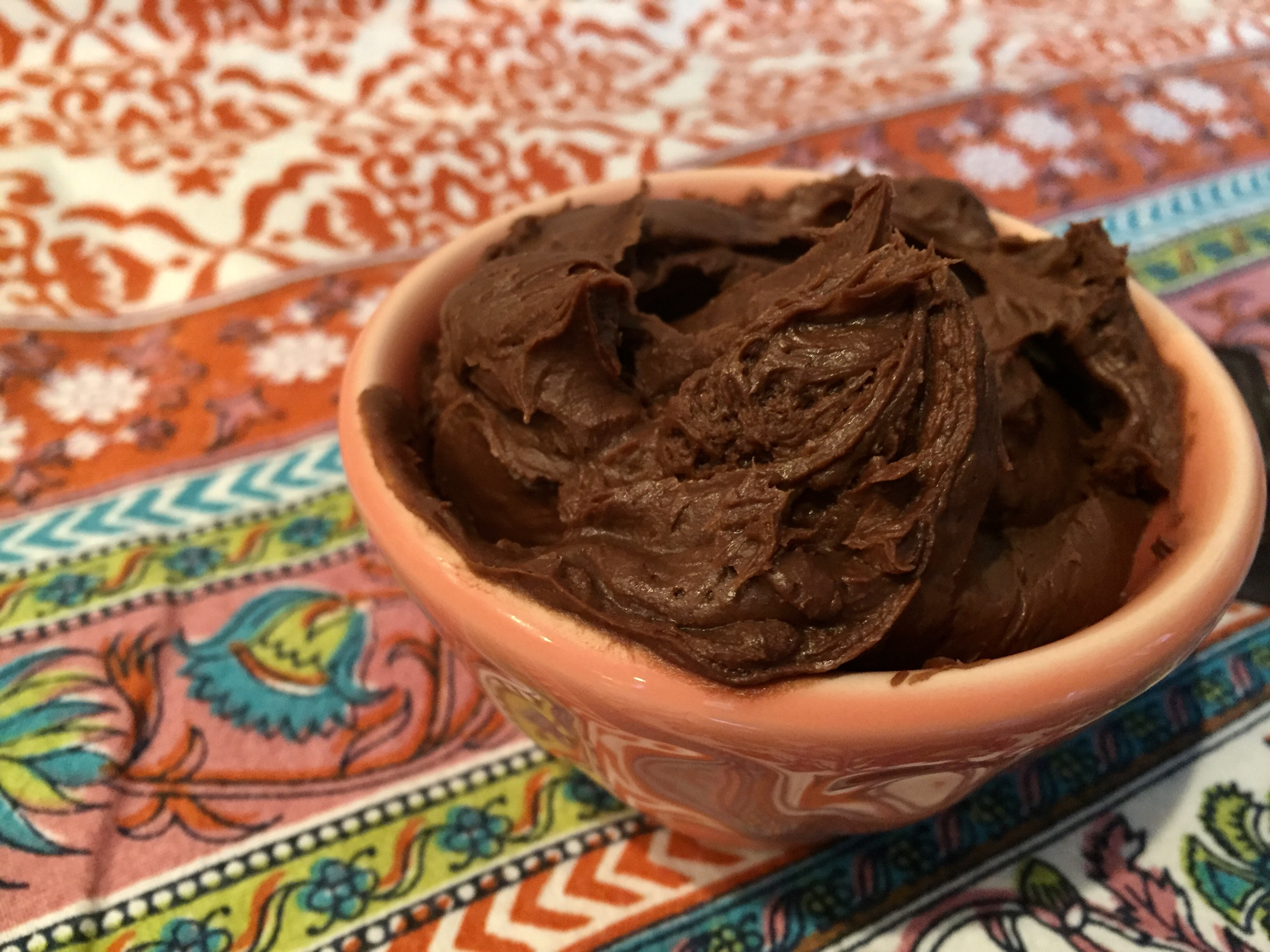 Low-Carb Chocolate Coconut Frosting