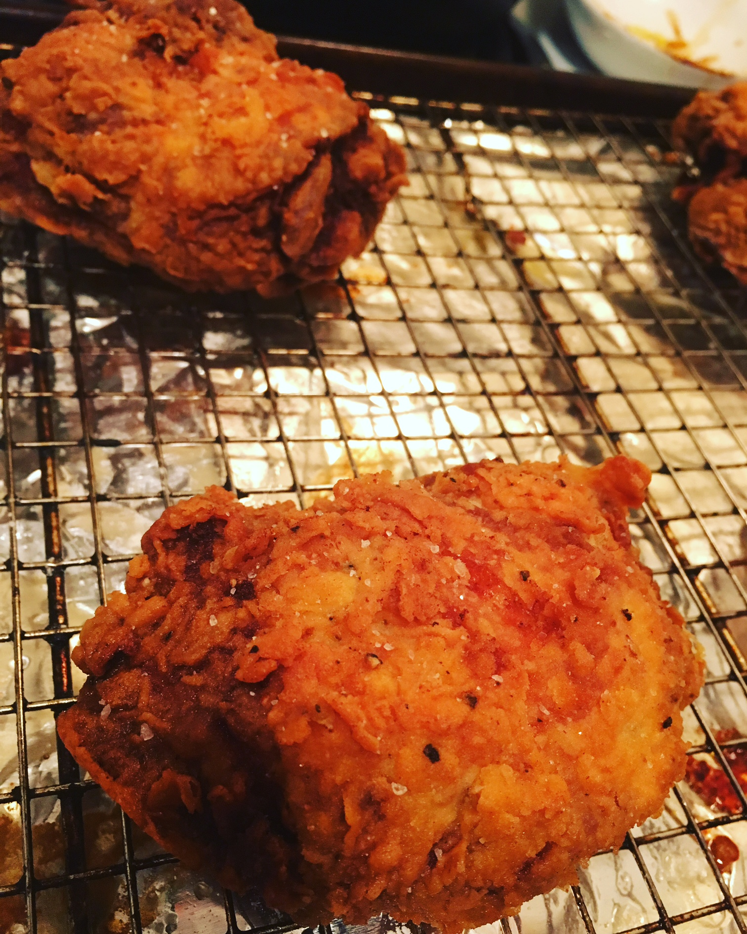 Pickle-Fried Chicken Cally