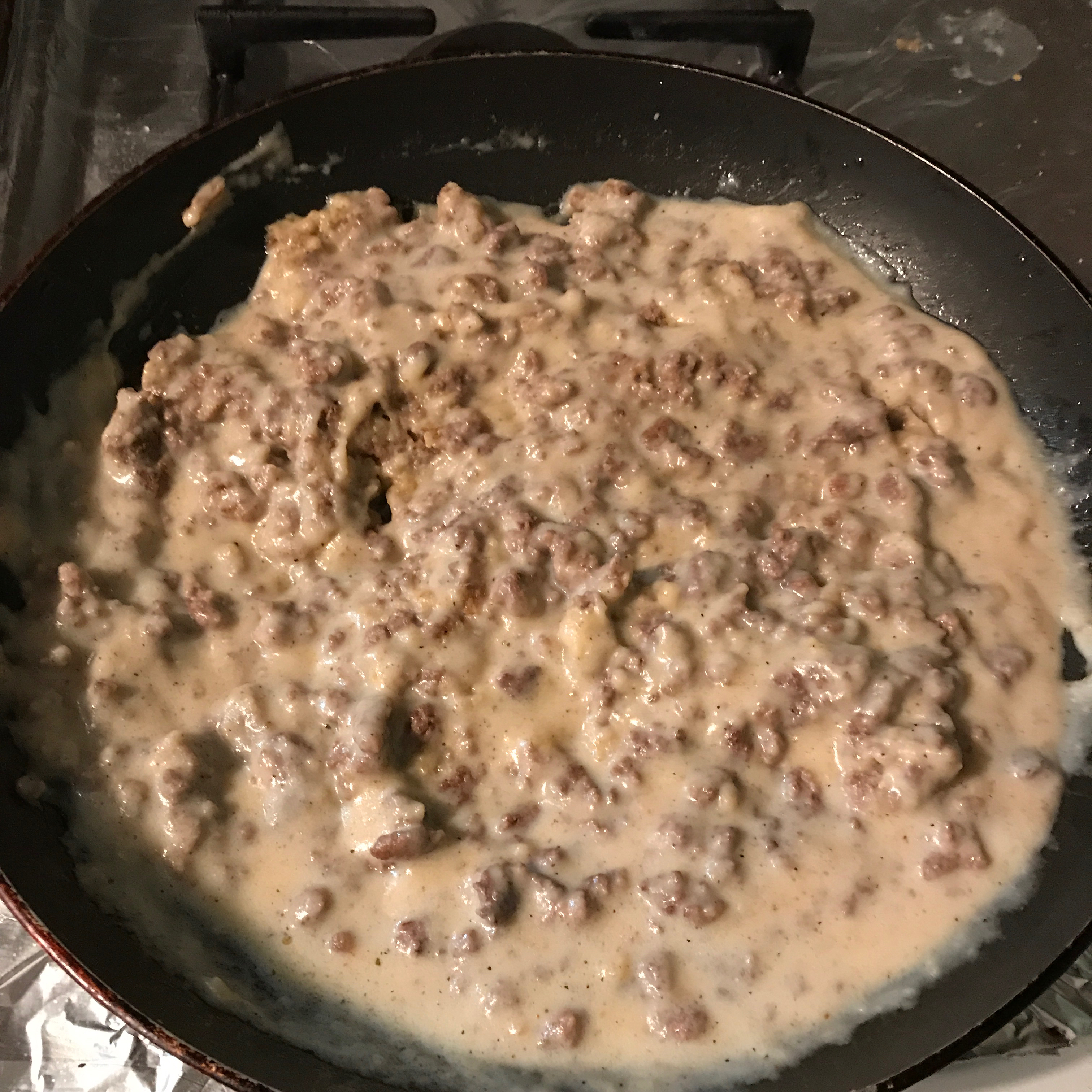 Creamed Beef for SOS