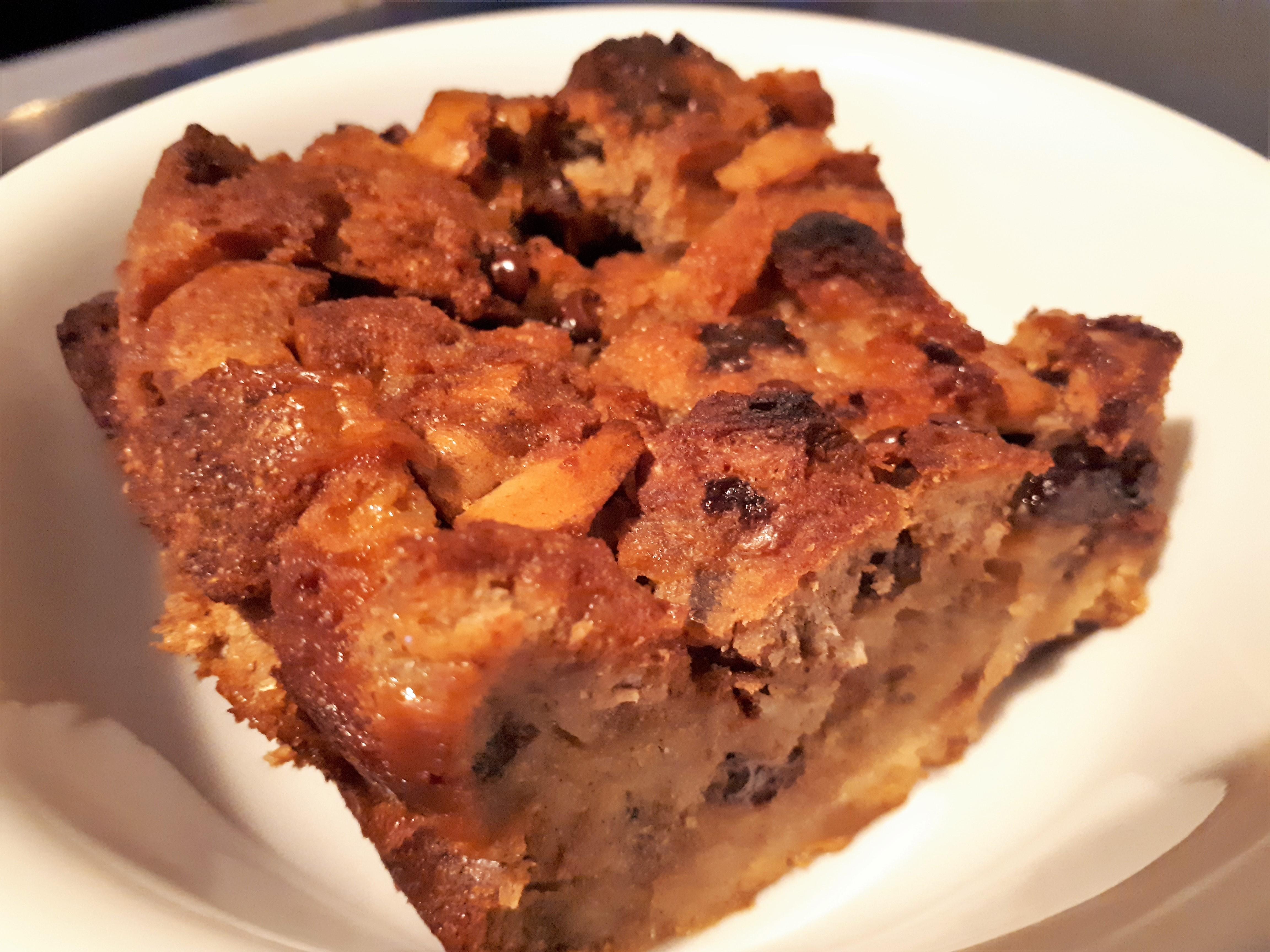 Easy Chocolate Cinnamon Bread Pudding