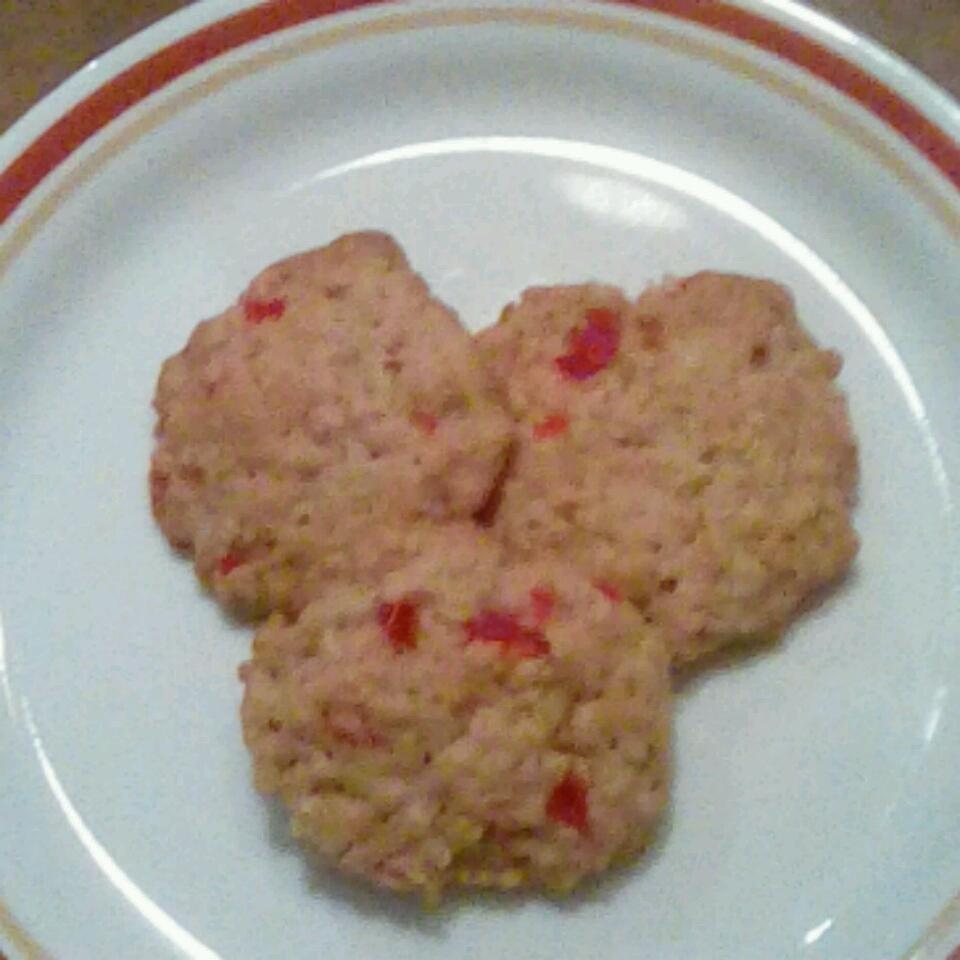 Cherry Oatmeal Cookies Becky