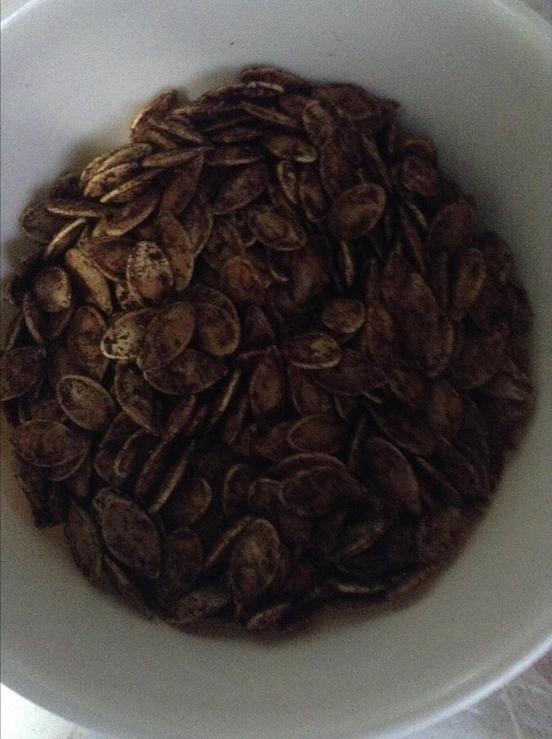 Cinnamon Toast Pumpkin Seeds Rebecca