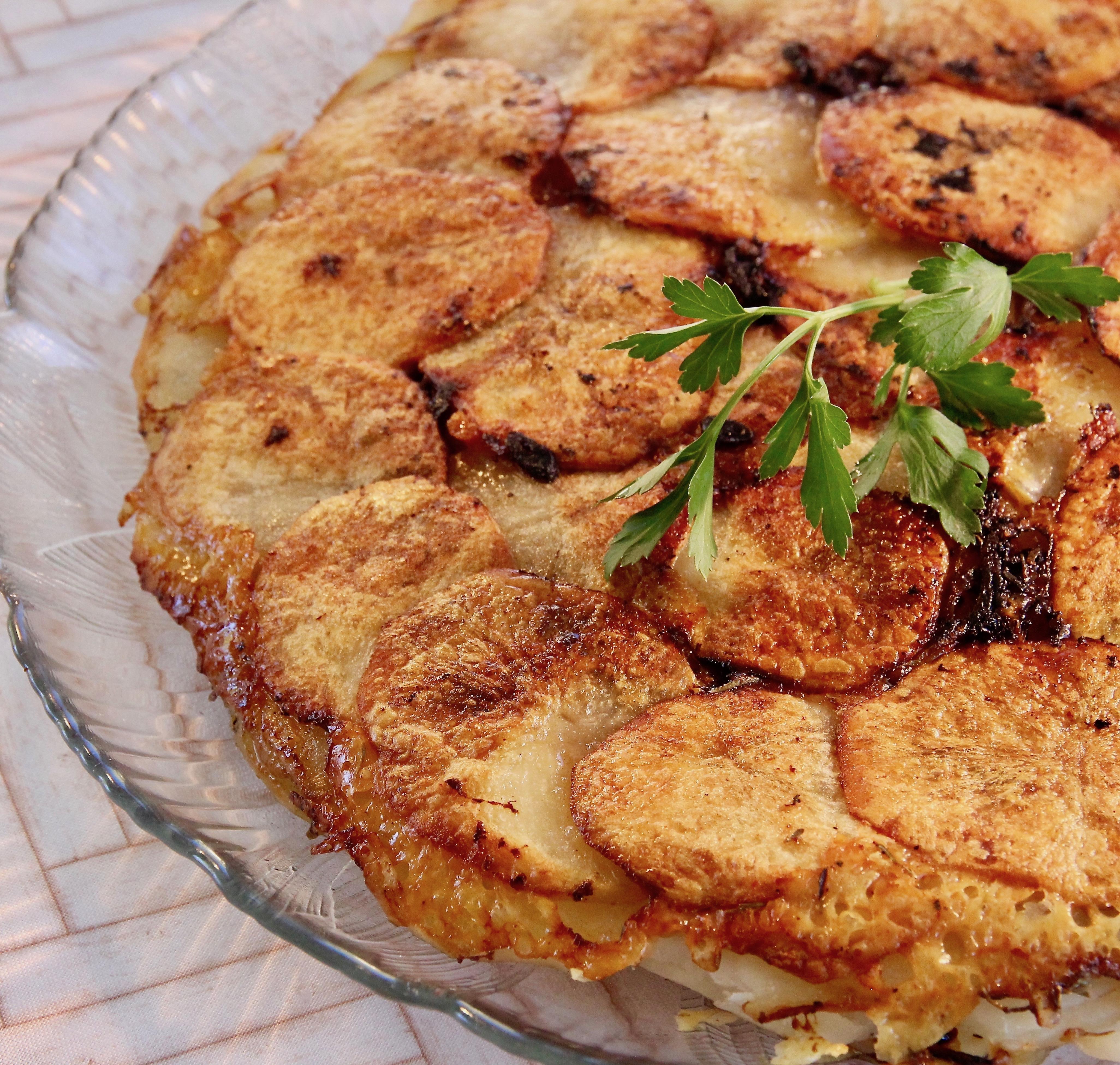 Pommes Anna with Gruyere