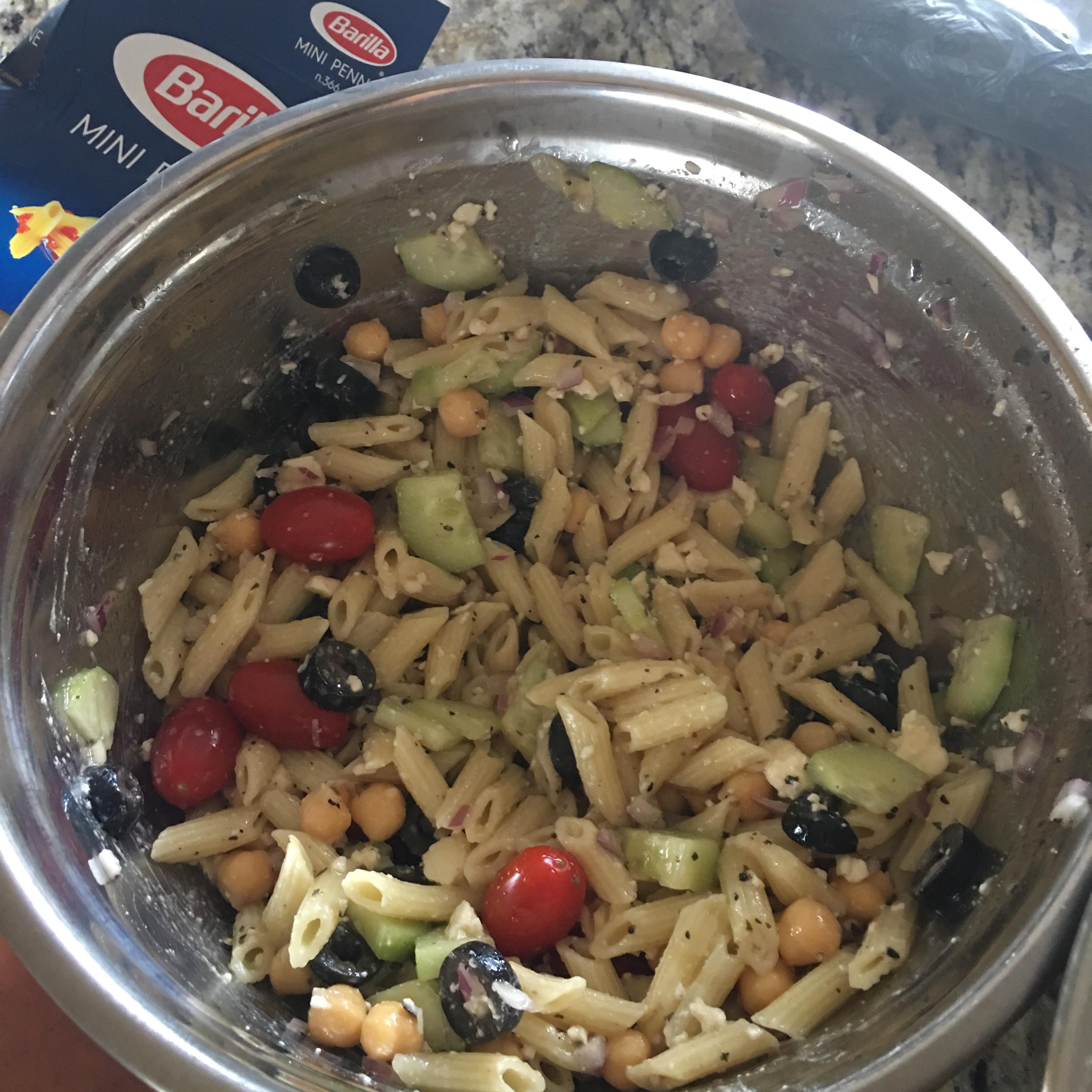 Sandy's Greek Pasta Salad Moni