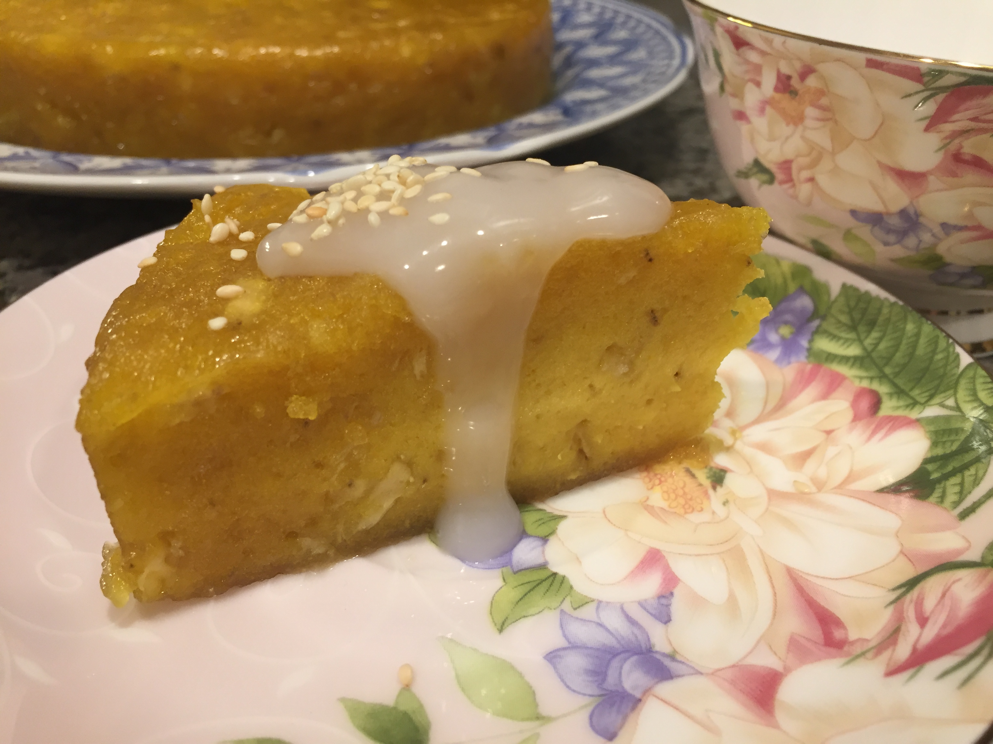 Steamed Banana Cake in Instant Pot®