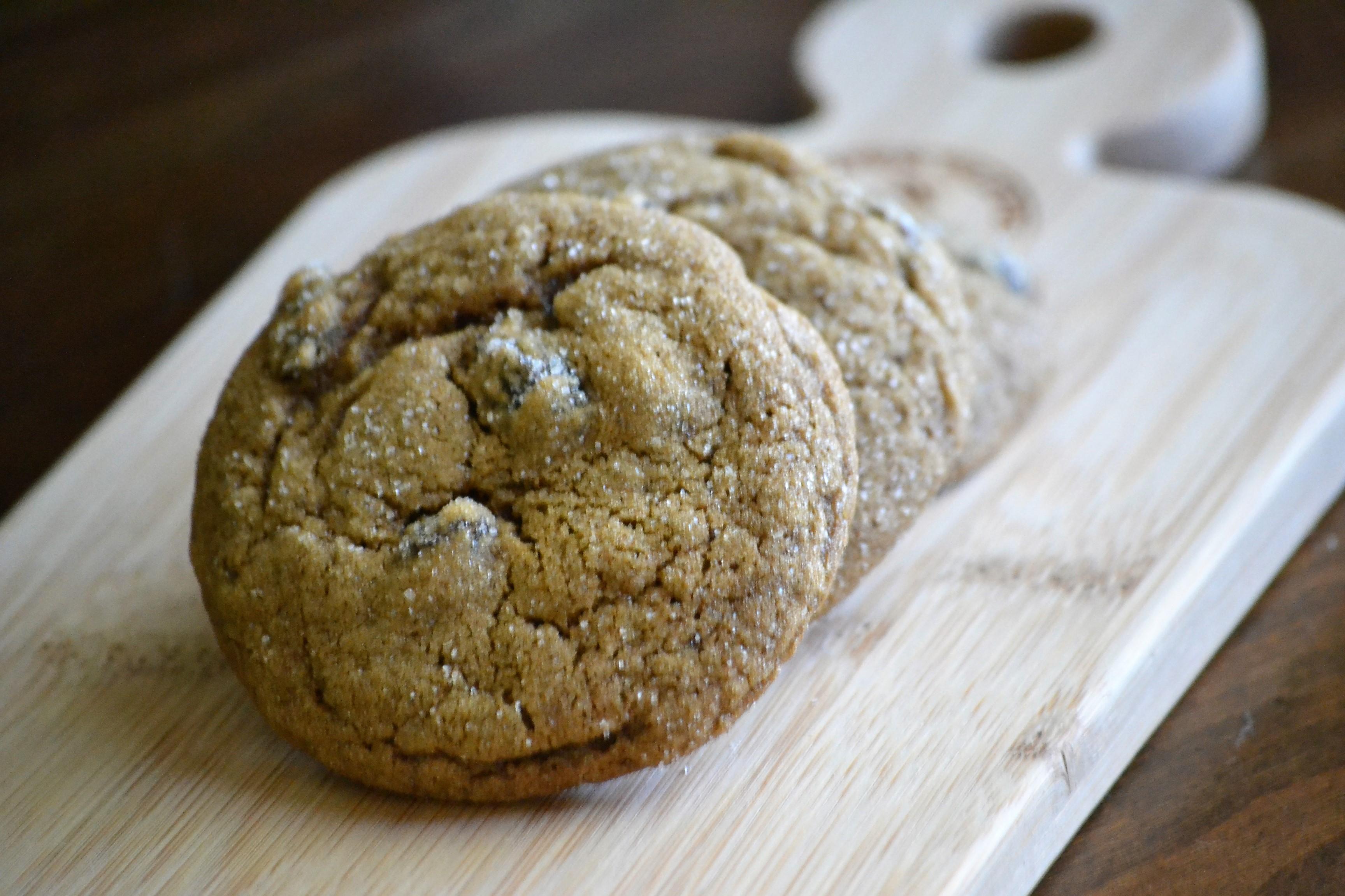 Grammy Burnham's Molasses Cookies Kim
