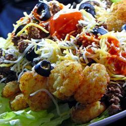 Tater Tot Taco Salad Soup Loving Nicole
