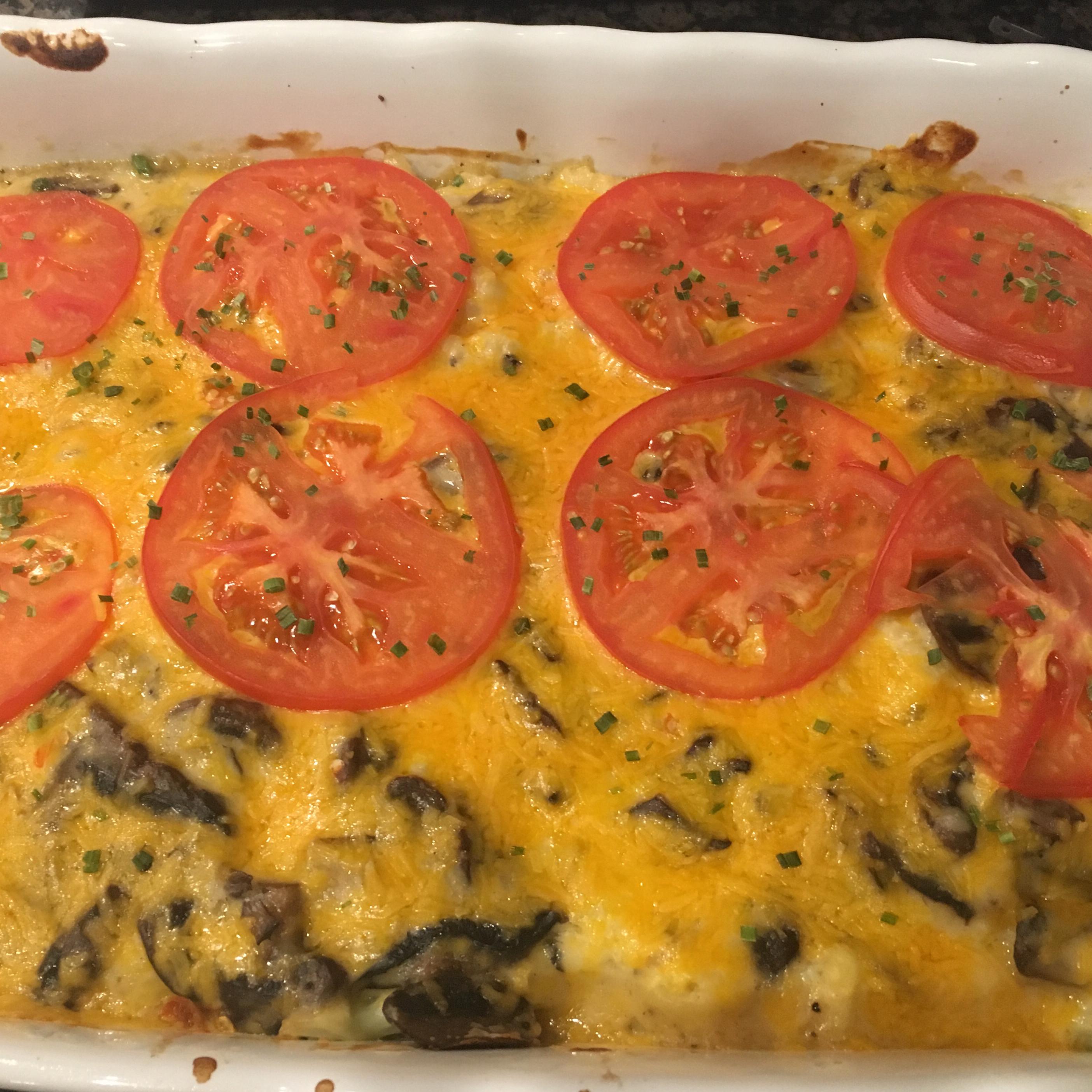Cheesy Baked Cauliflower II