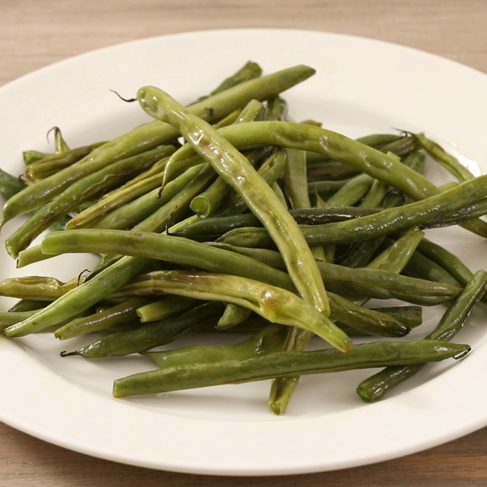 Roasted Fresh Green Beans EatingWell Test Kitchen